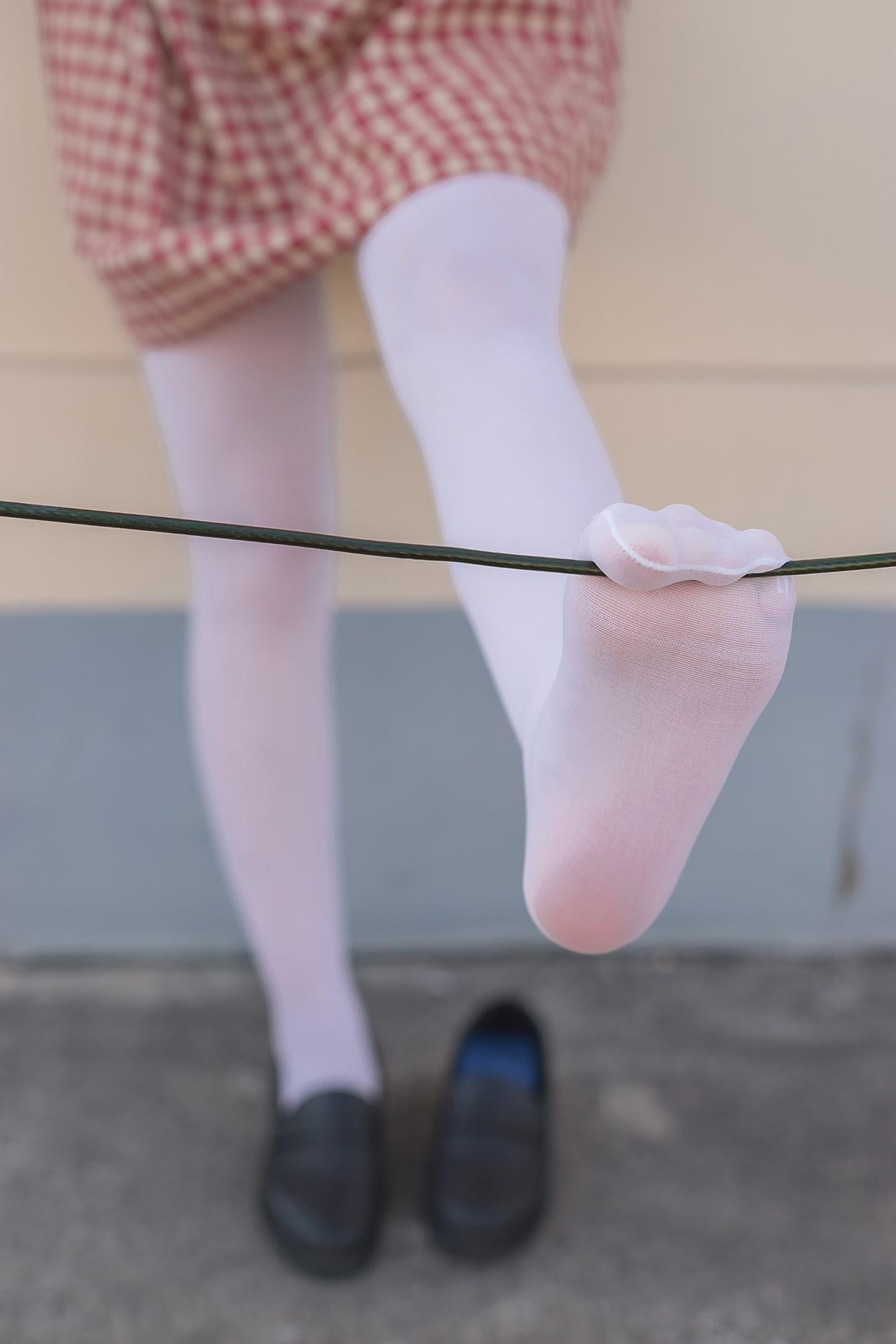 【兔玩映画】萝莉的白丝袜 兔玩映画 第24张
