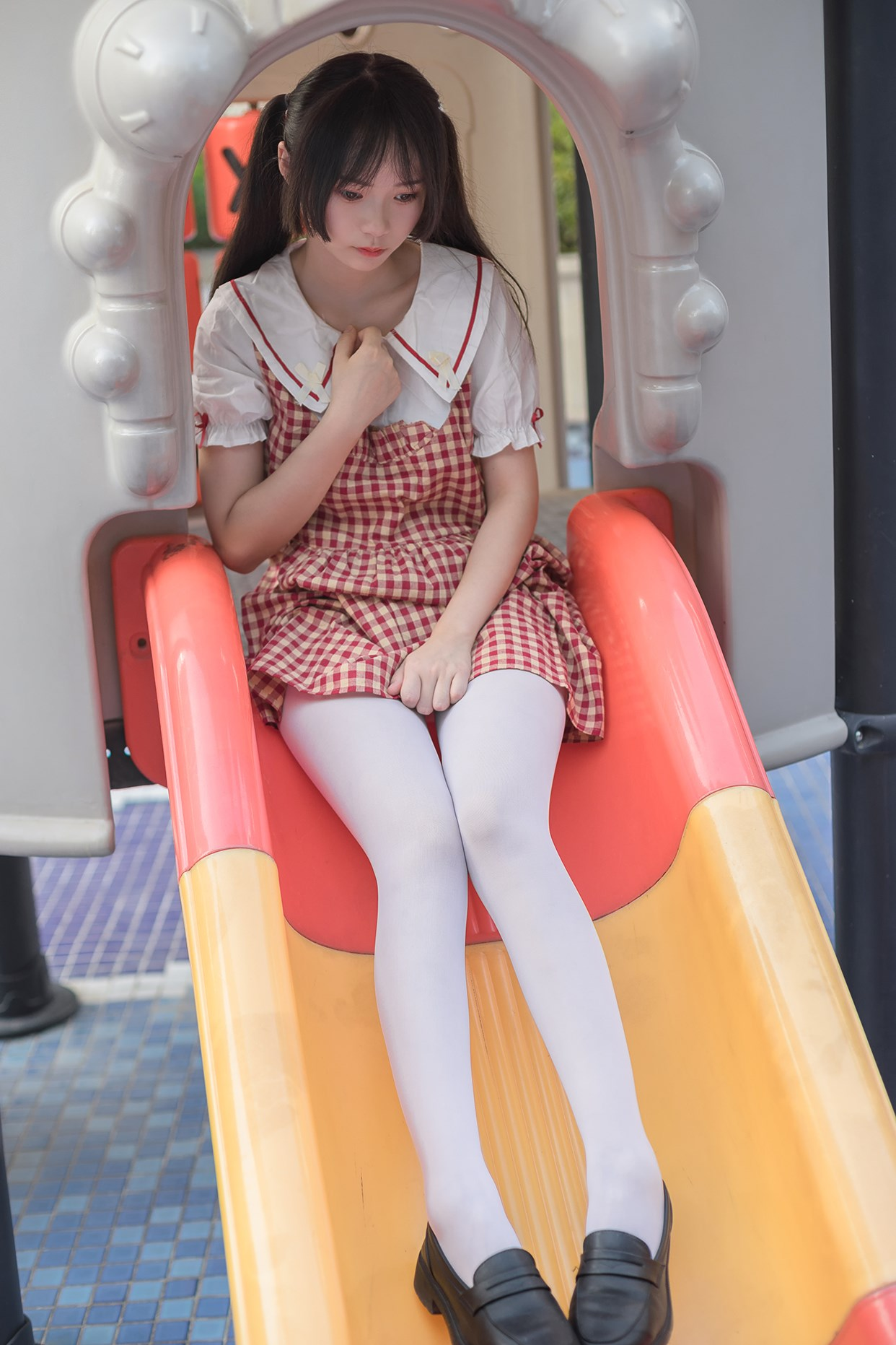 【兔玩映画】萝莉的白丝袜 兔玩映画 第38张