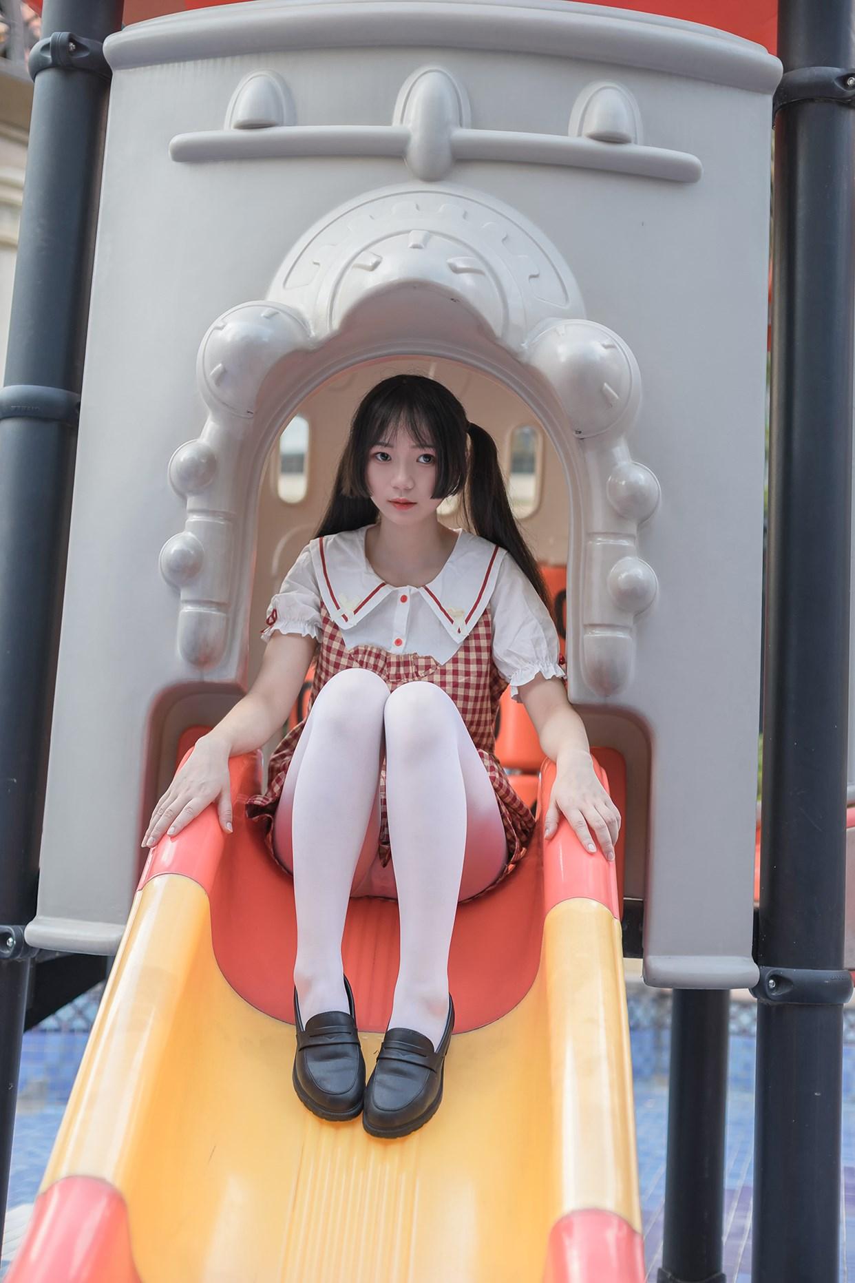 【兔玩映画】萝莉的白丝袜 兔玩映画 第39张