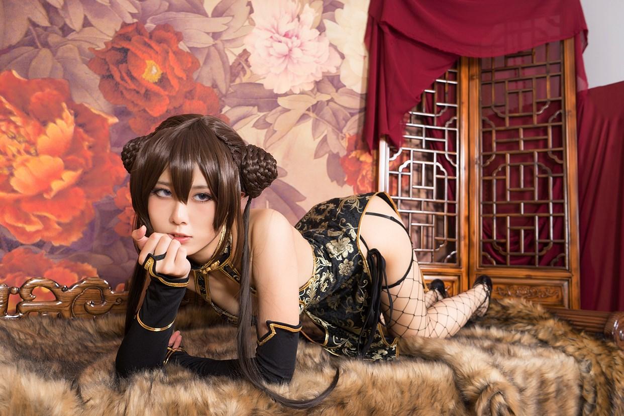 【兔玩映画】旗袍果腿和网袜 兔玩映画 第39张