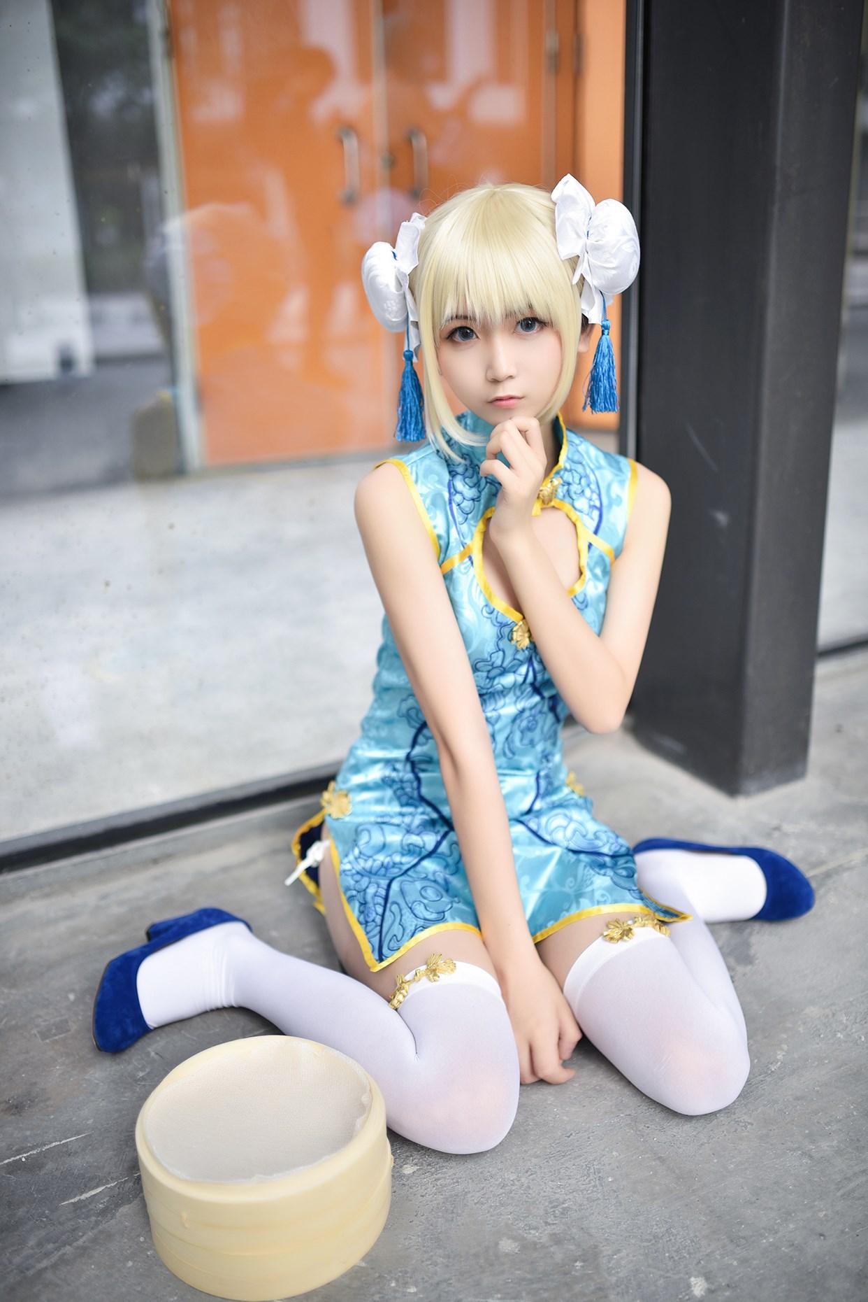 【兔玩映画】超卡哇伊的旗袍娘 兔玩映画 第16张