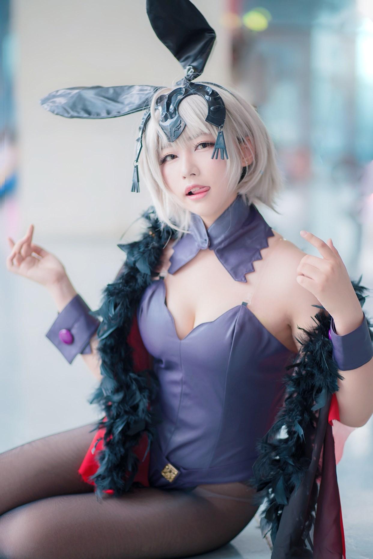 【兔玩映画】黑丝cos 兔玩映画 第20张