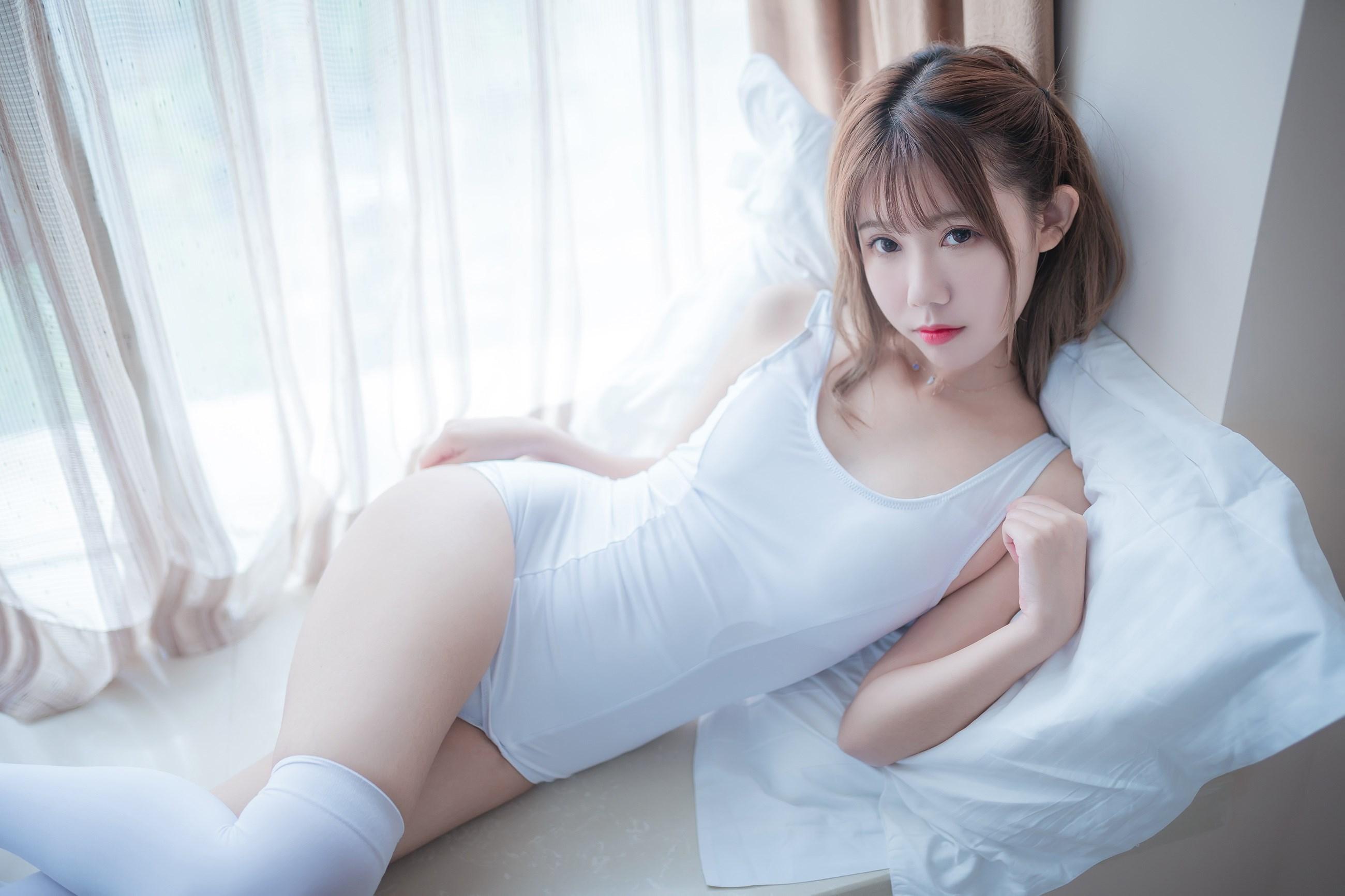 【兔玩映画】vol.09-纯白色 兔玩映画 第35张
