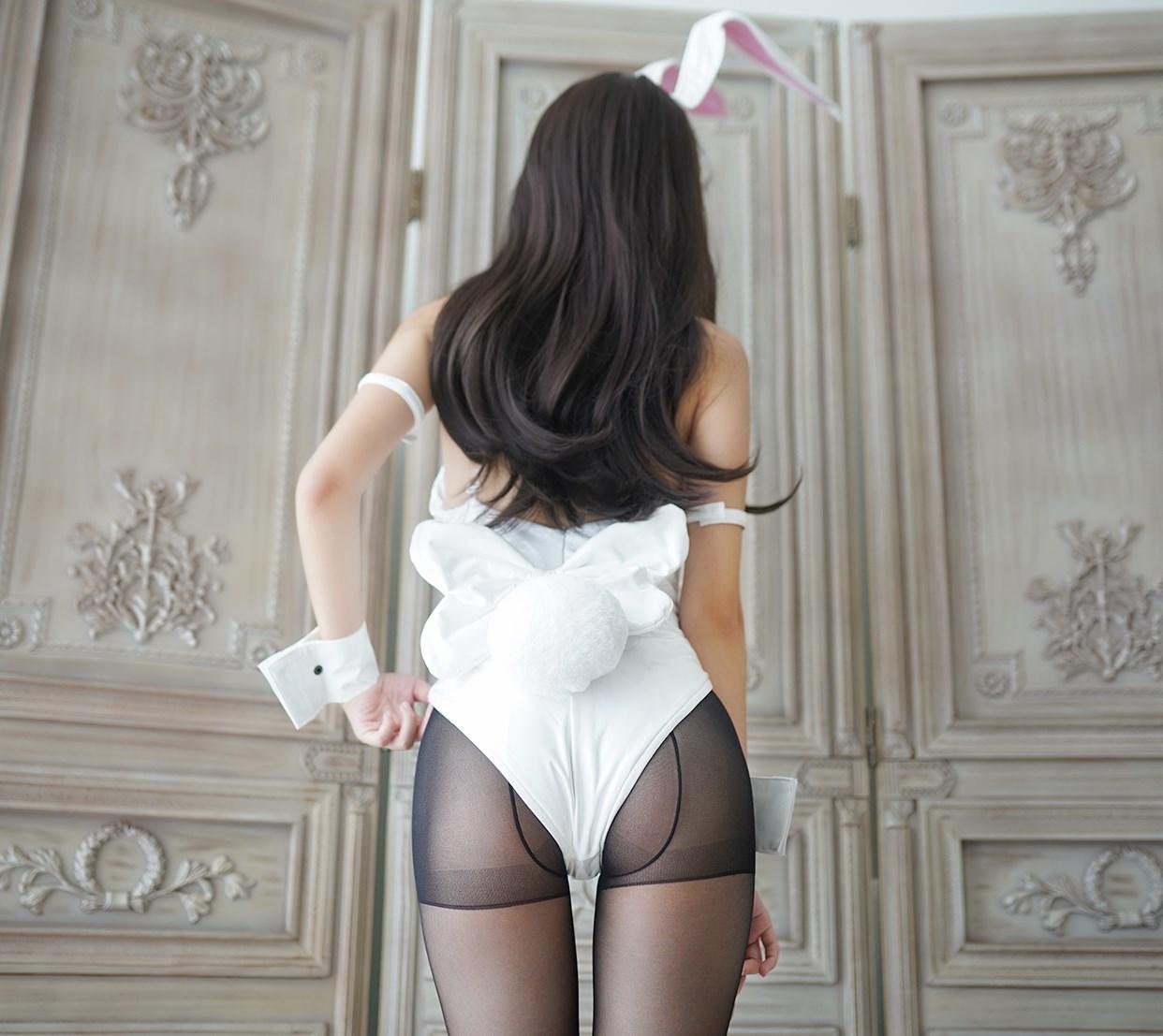 【兔玩映画】兔女郎vol.17-白兔 兔玩映画 第11张