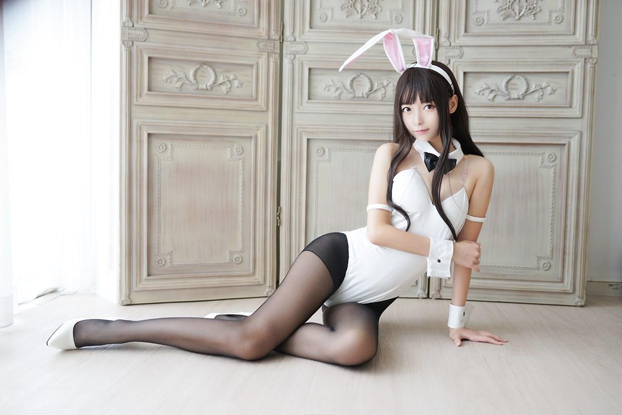 【兔玩映画】兔女郎vol.17-白兔 兔玩映画 第18张
