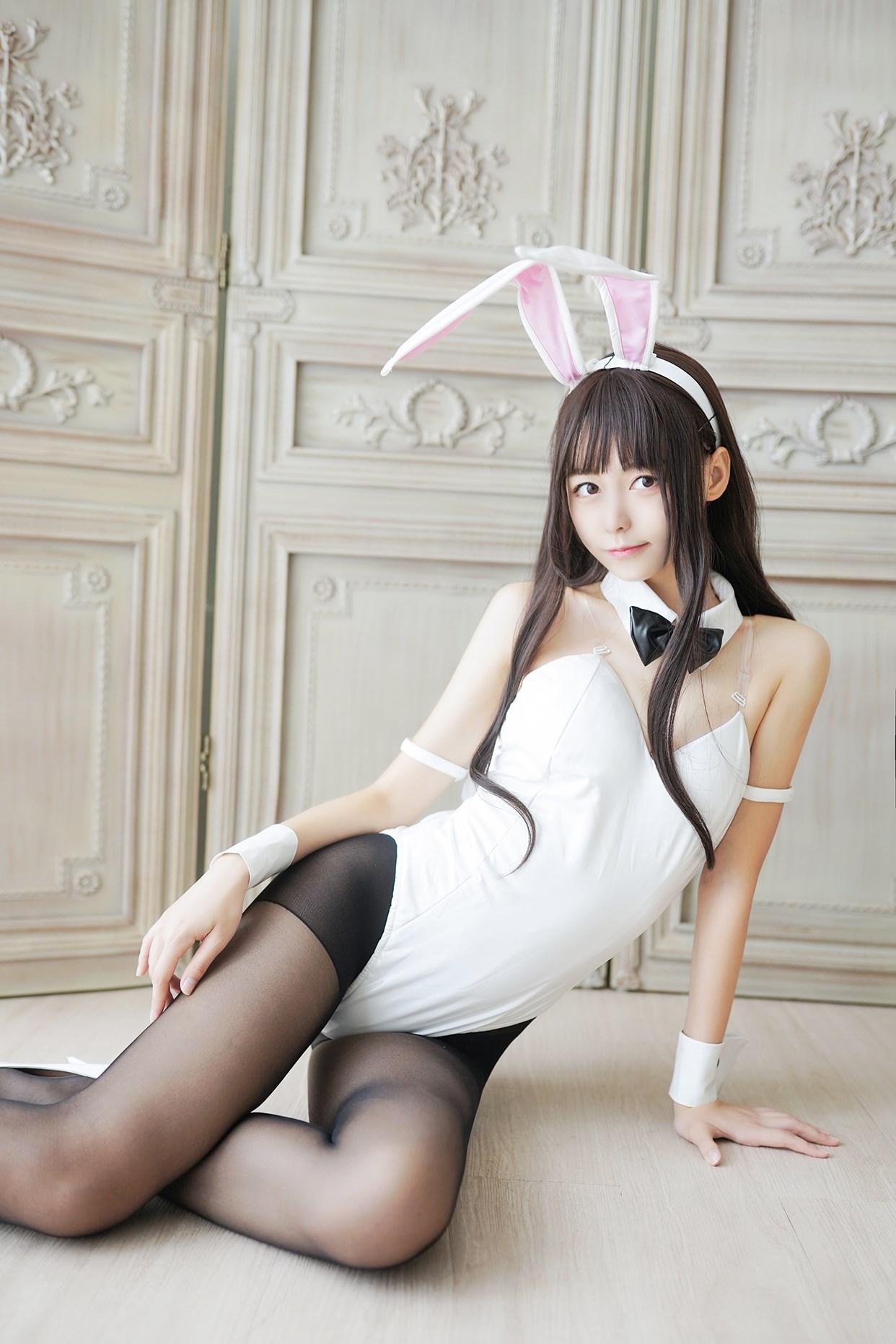 【兔玩映画】兔女郎vol.17-白兔 兔玩映画 第19张