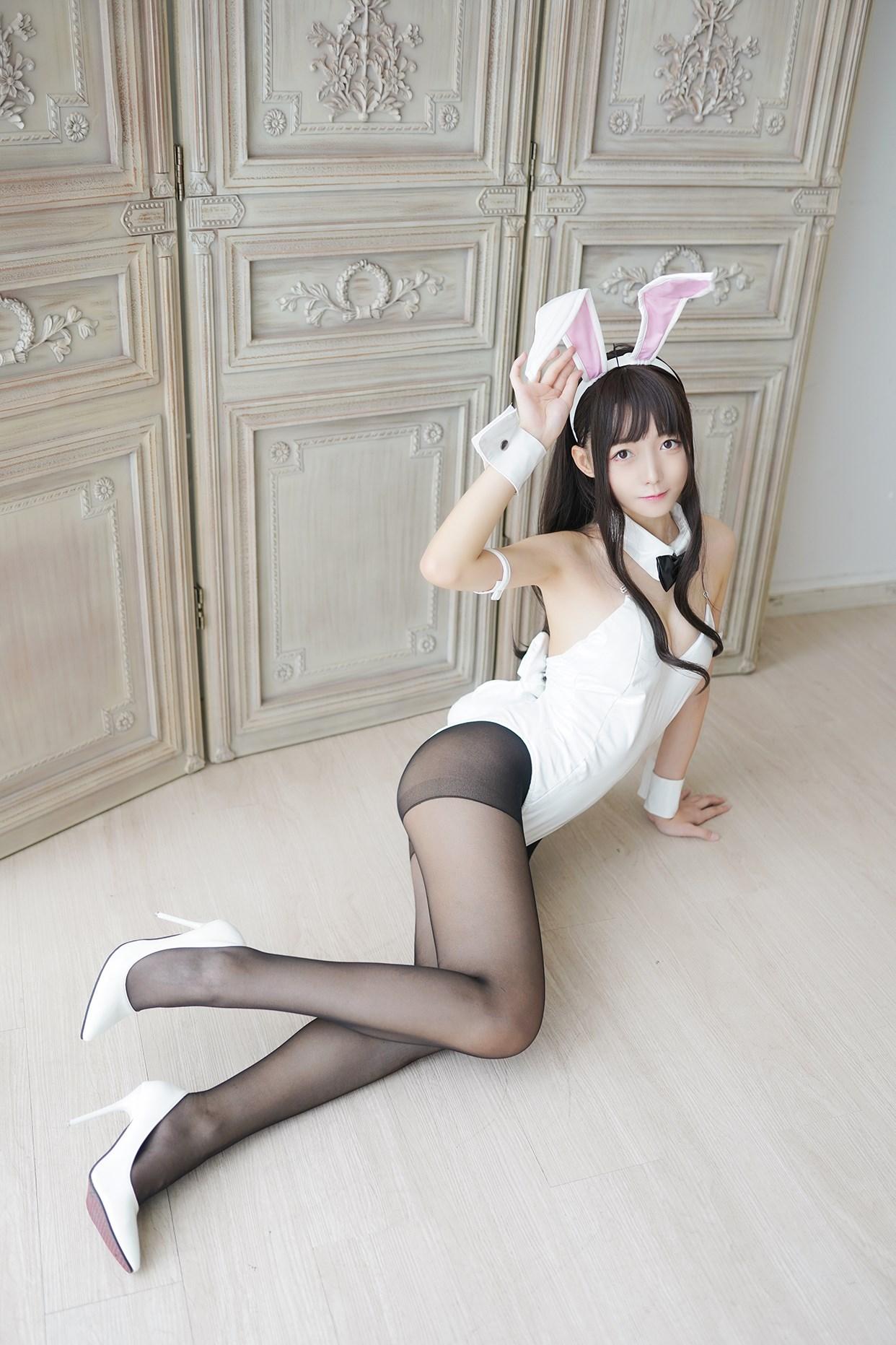 【兔玩映画】兔女郎vol.17-白兔 兔玩映画 第20张