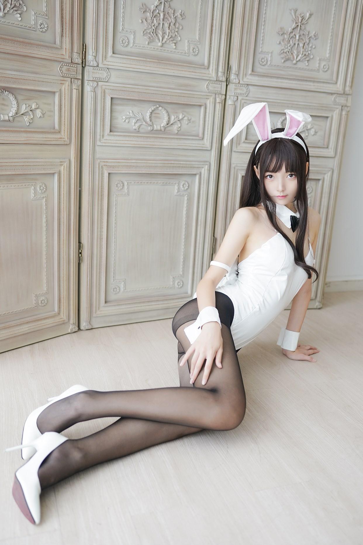 【兔玩映画】兔女郎vol.17-白兔 兔玩映画 第21张