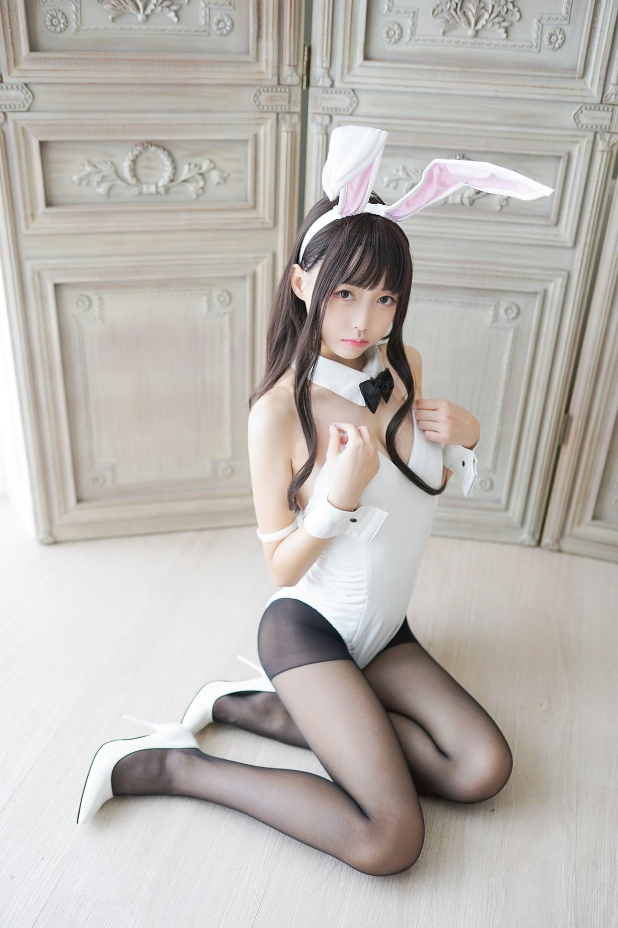 【兔玩映画】兔女郎vol.17-白兔 兔玩映画 第23张