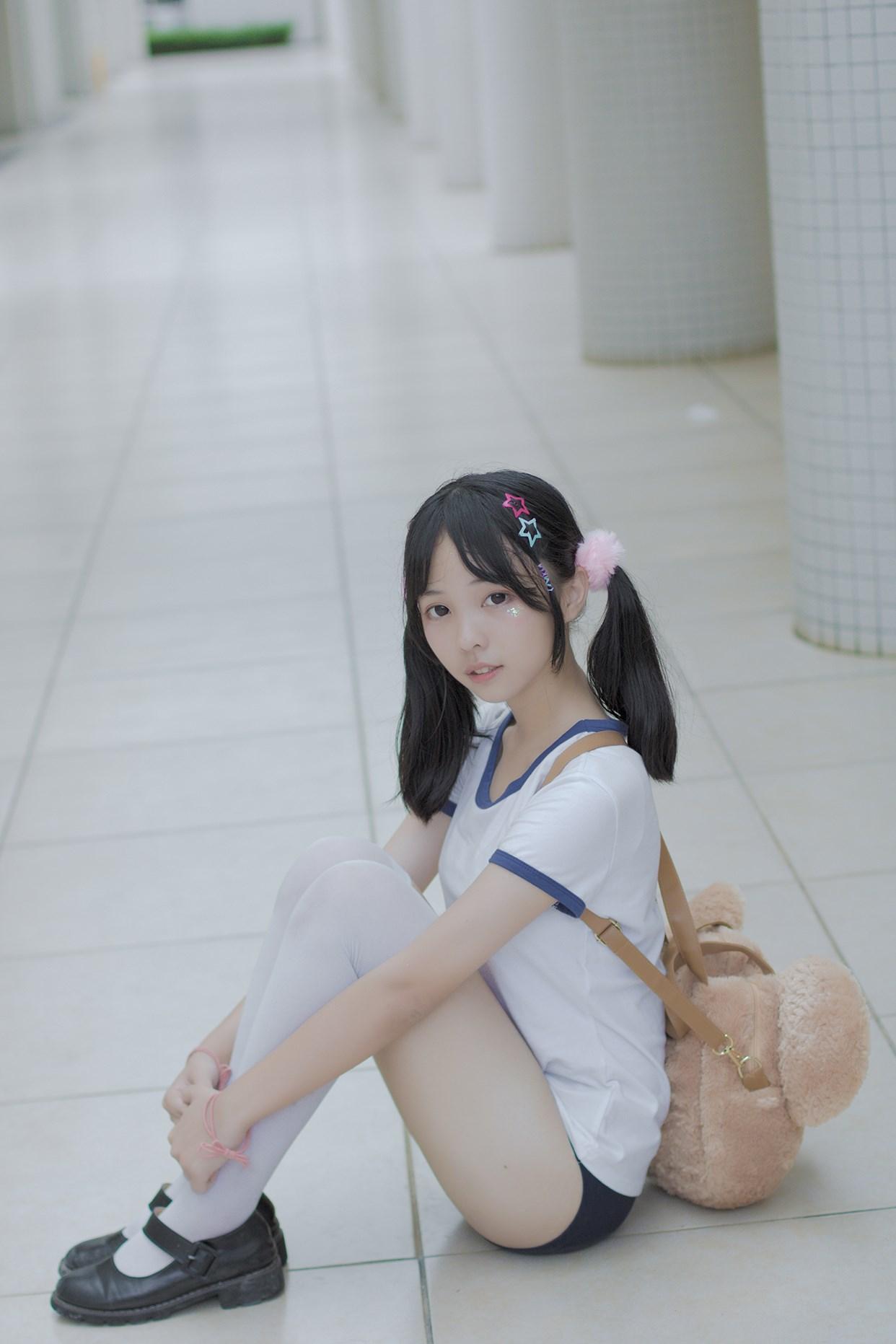 【兔玩映画】萝莉的体操服 兔玩映画 第40张