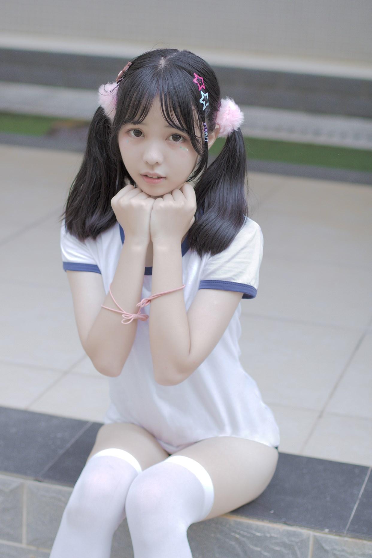【兔玩映画】萝莉的体操服 兔玩映画 第18张