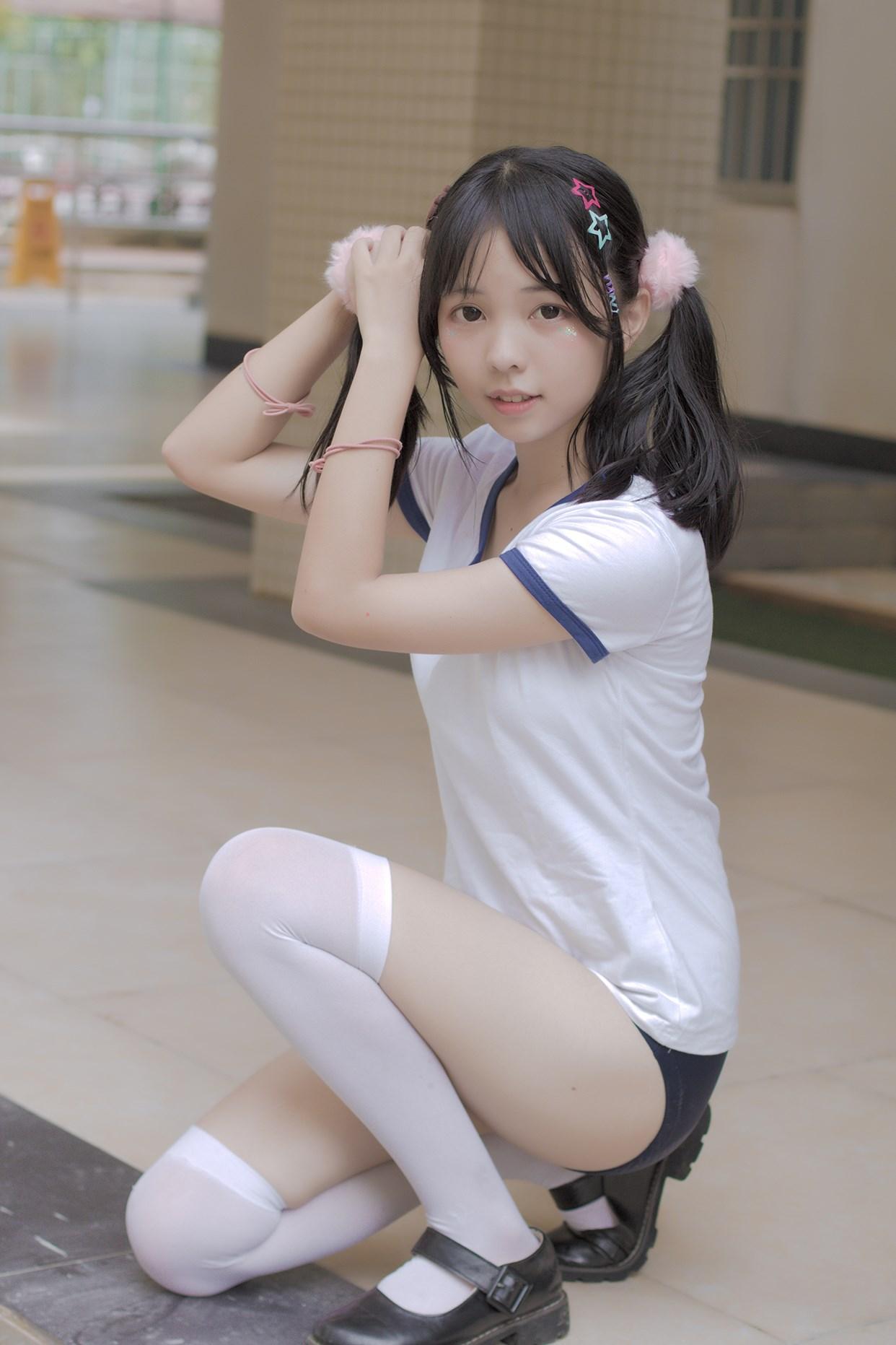 【兔玩映画】萝莉的体操服 兔玩映画 第13张