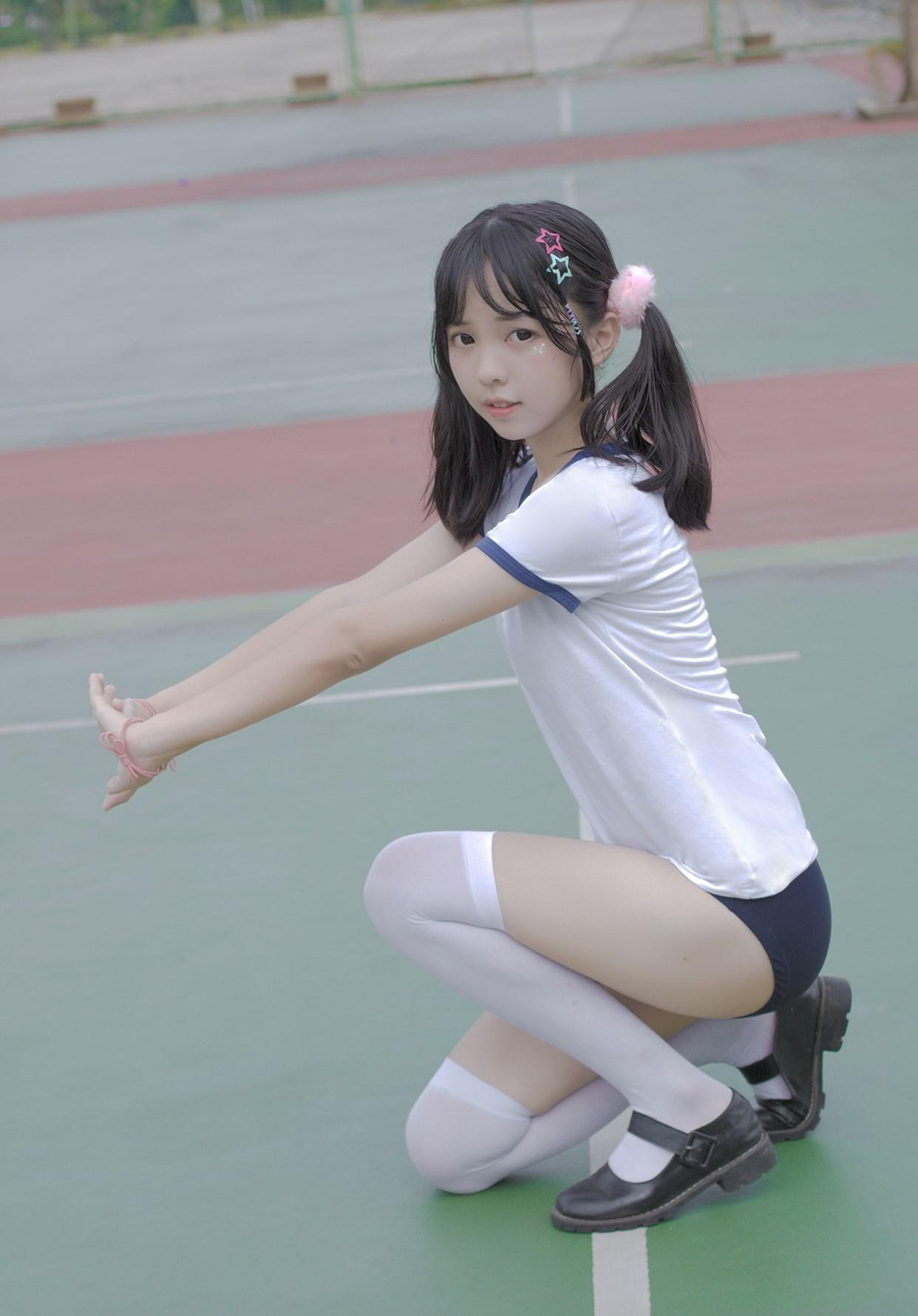 【兔玩映画】萝莉的体操服 兔玩映画 第10张