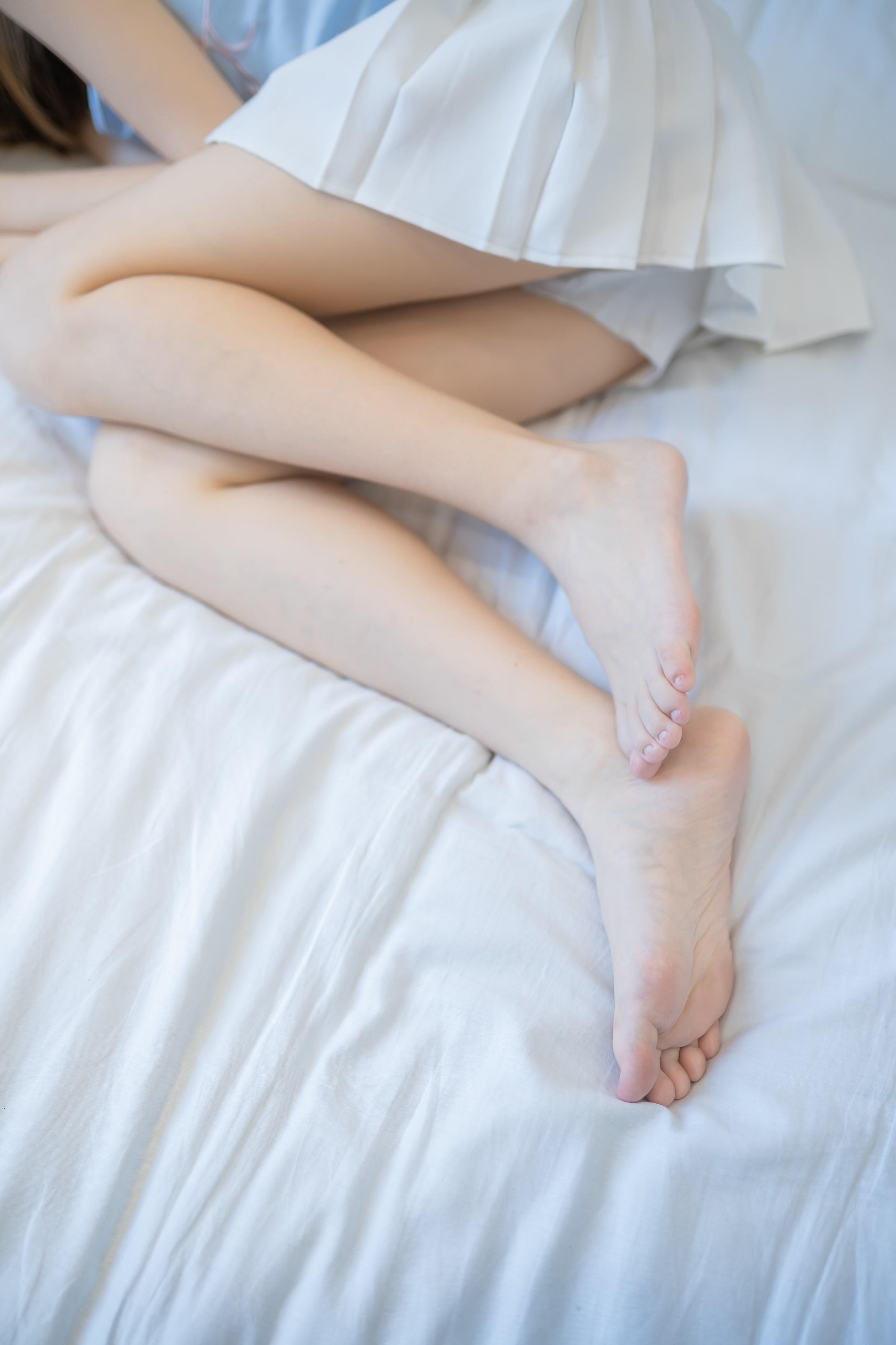 【兔玩映画】白裙果腿少女 兔玩映画 第45张