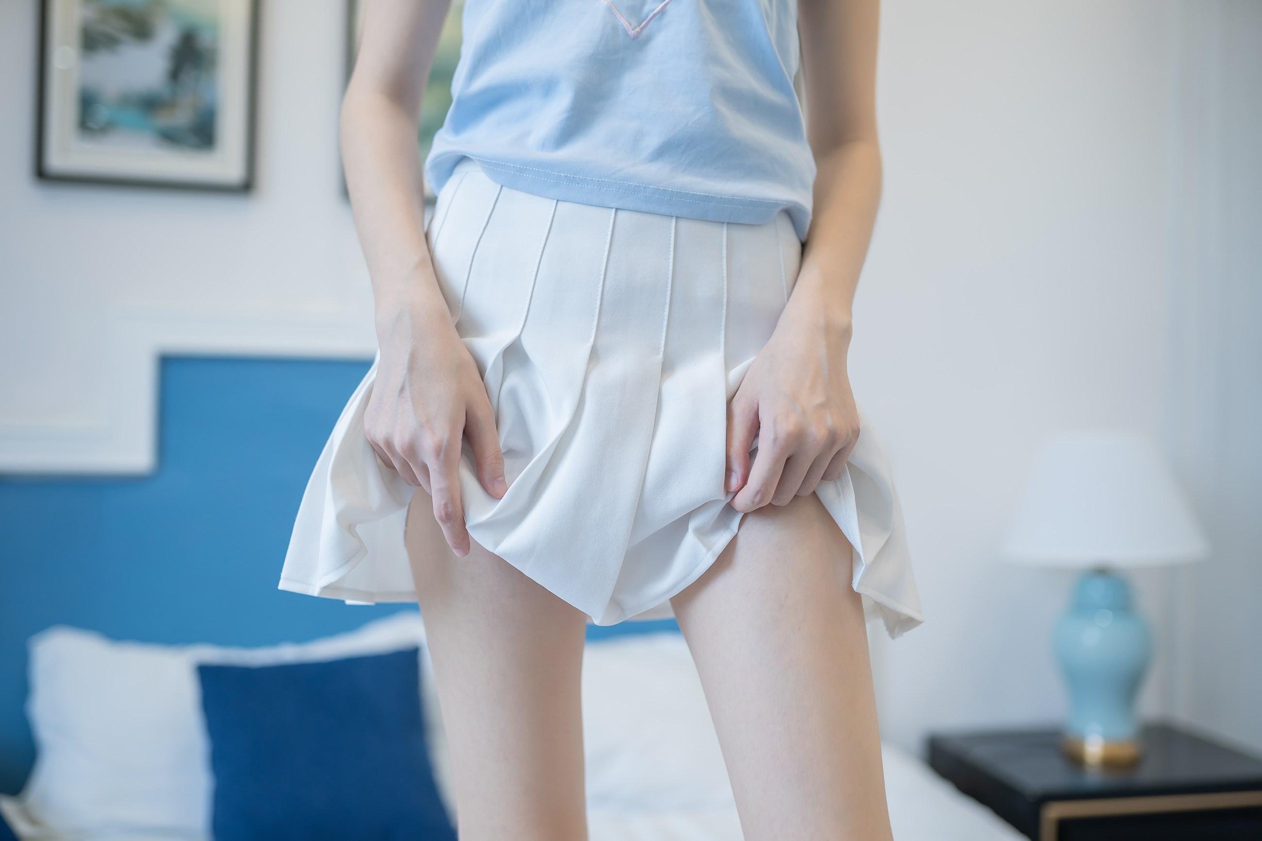 【兔玩映画】白裙果腿少女 兔玩映画 第40张