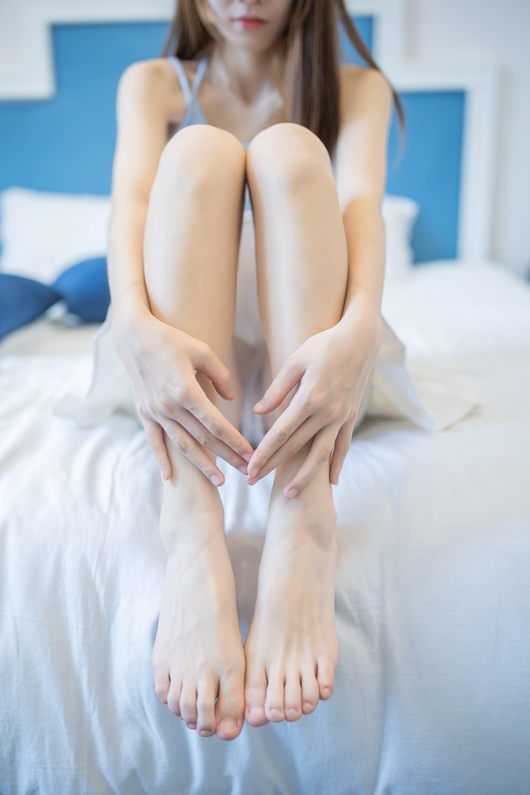 【兔玩映画】白裙果腿少女 兔玩映画 第32张