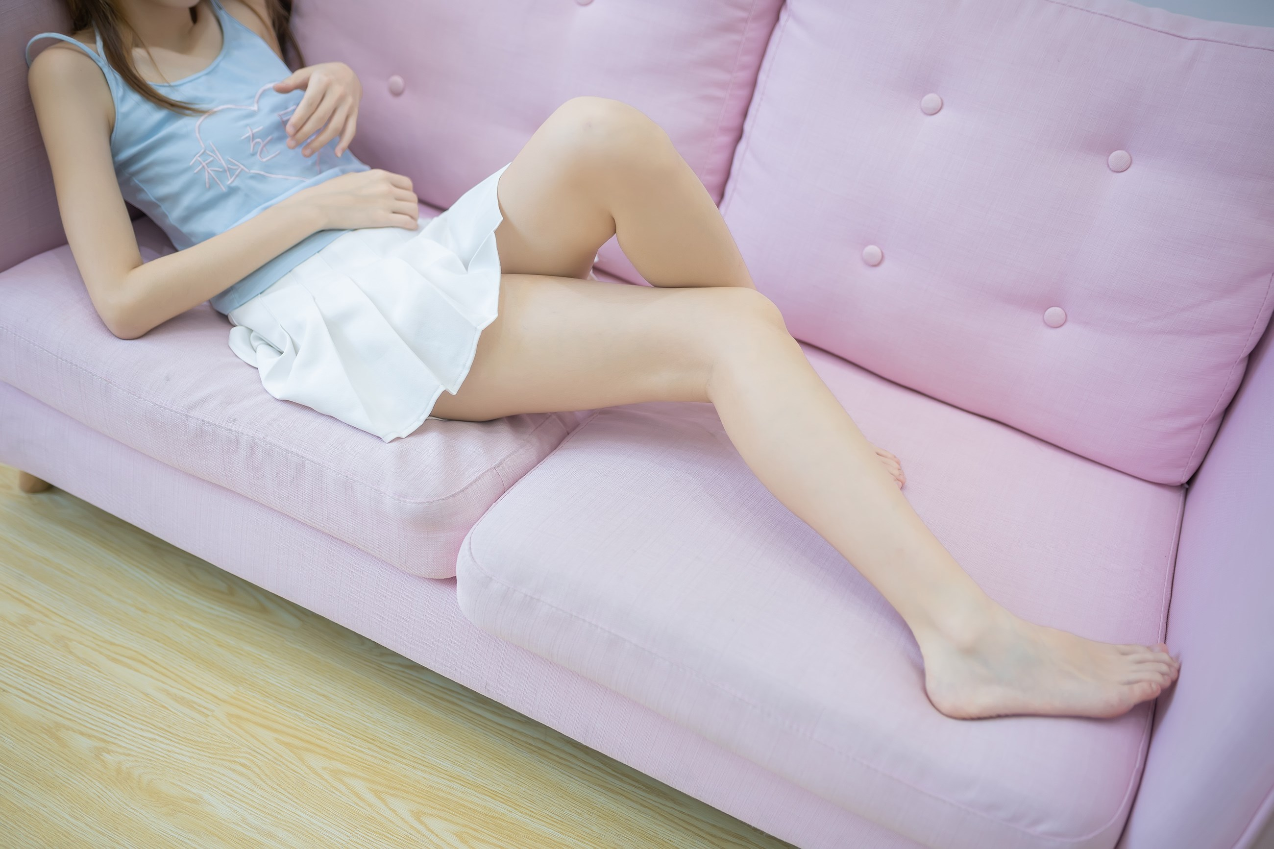 【兔玩映画】白裙果腿少女 兔玩映画 第23张