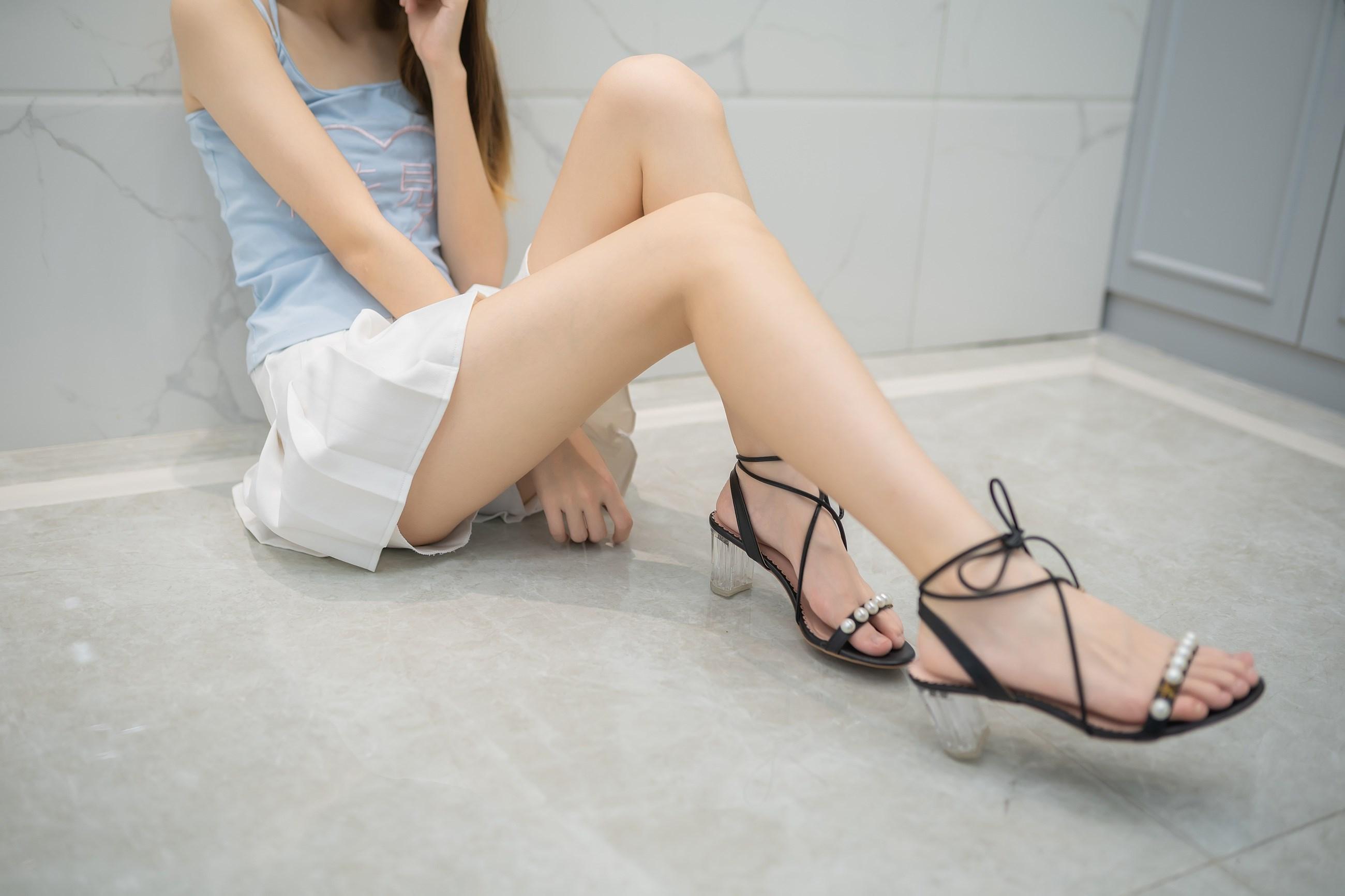 【兔玩映画】白裙果腿少女 兔玩映画 第15张
