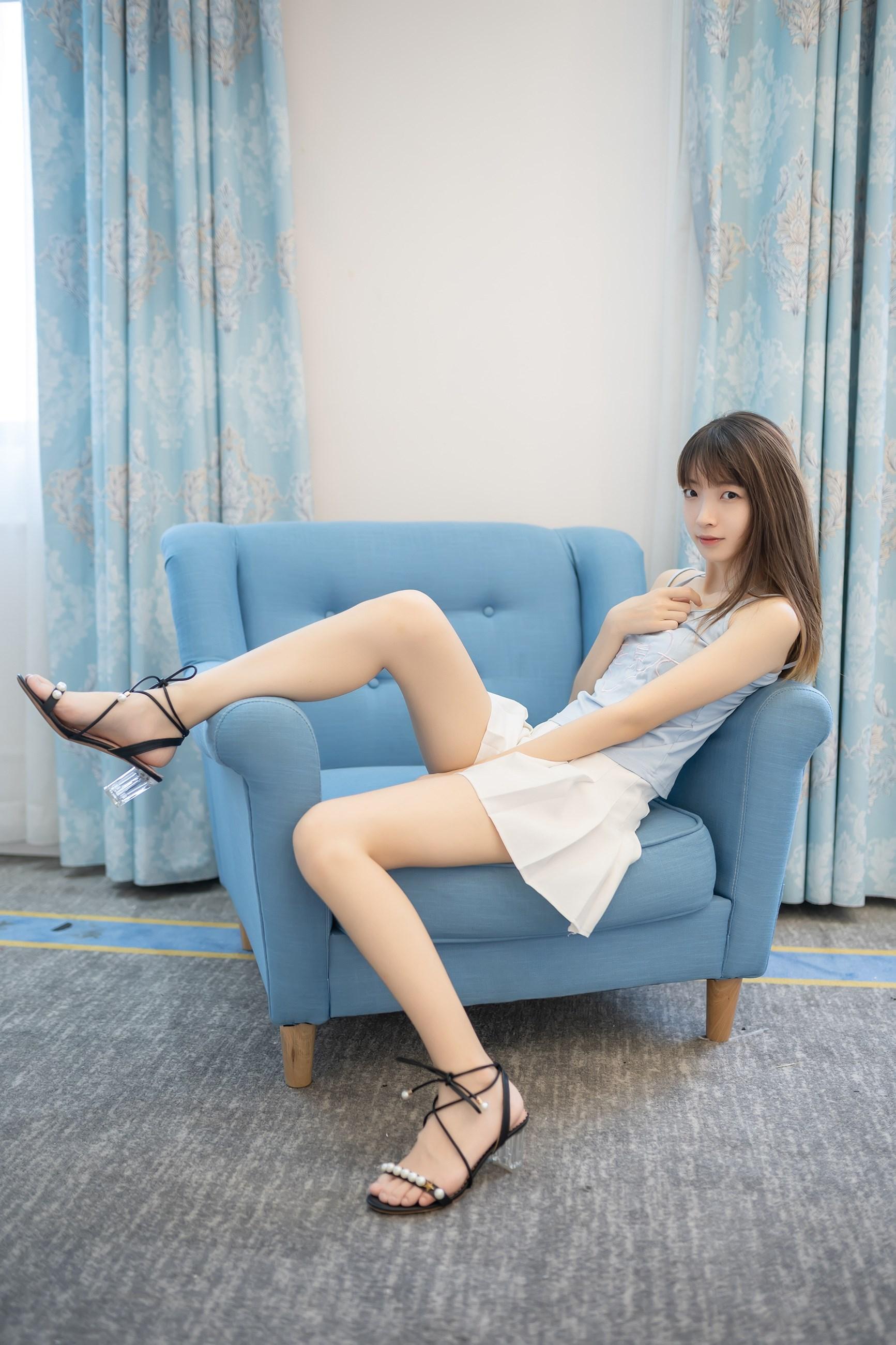 【兔玩映画】白裙果腿少女 兔玩映画 第11张