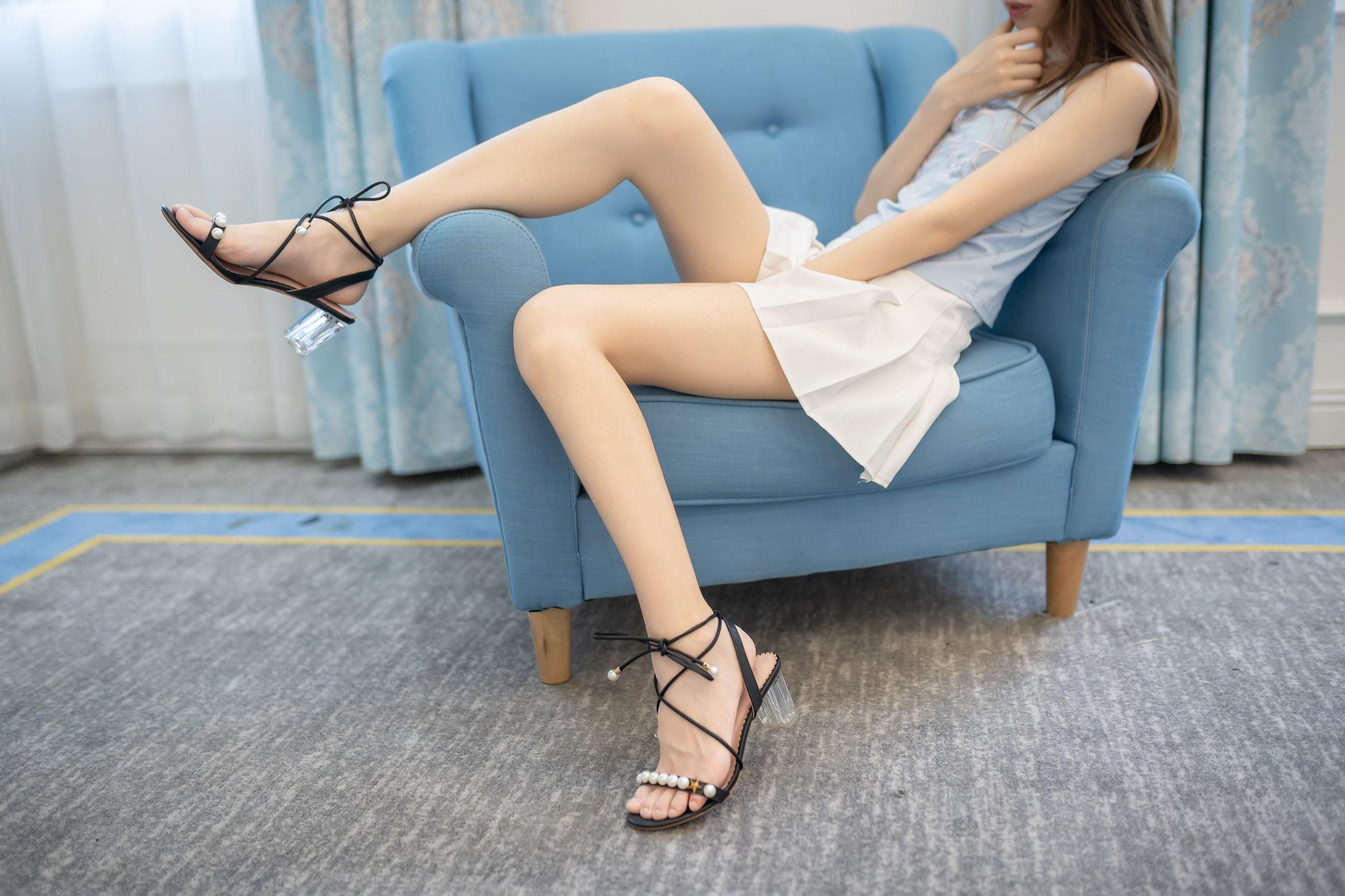 【兔玩映画】白裙果腿少女 兔玩映画 第12张