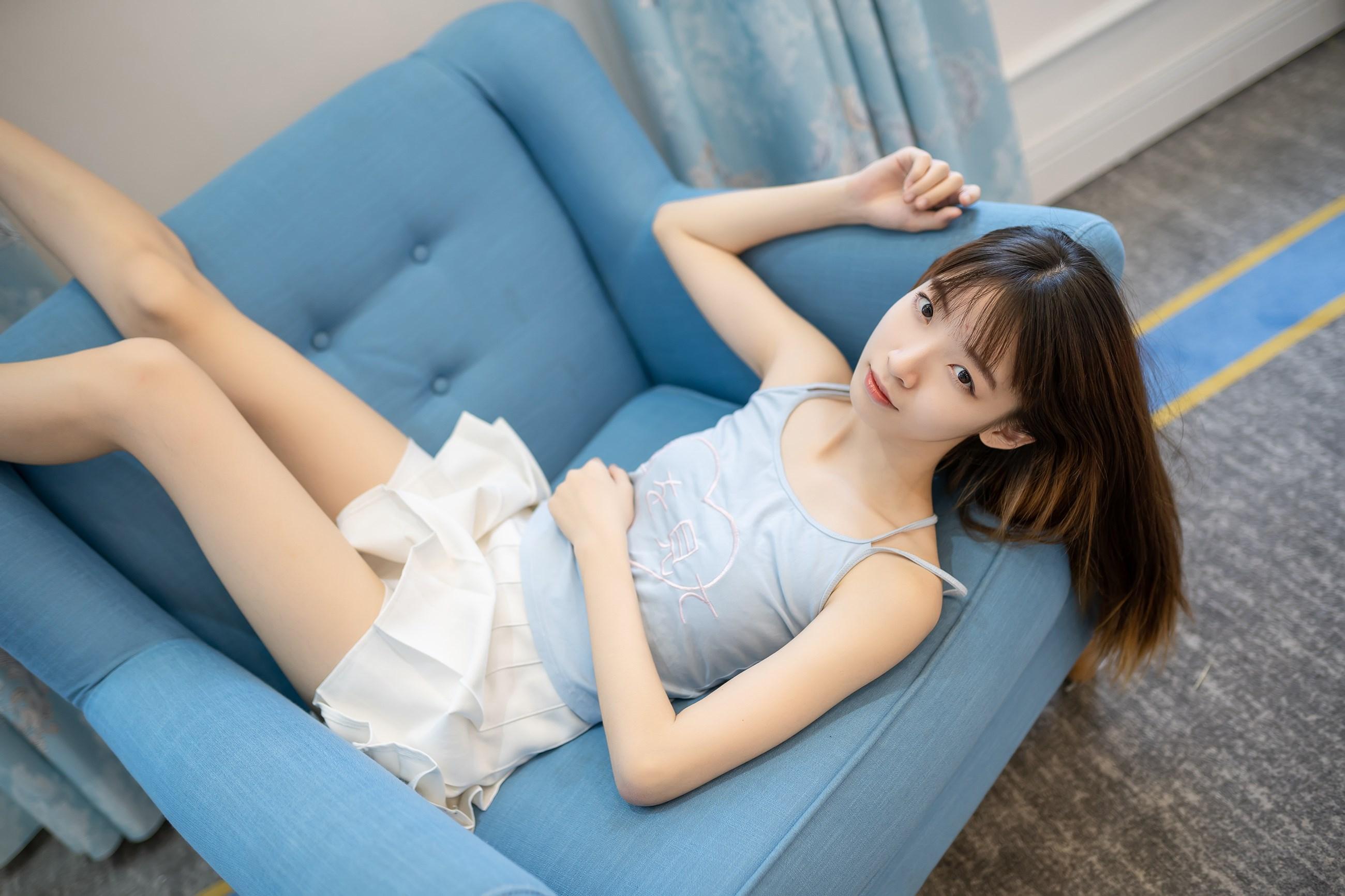 【兔玩映画】白裙果腿少女 兔玩映画 第13张