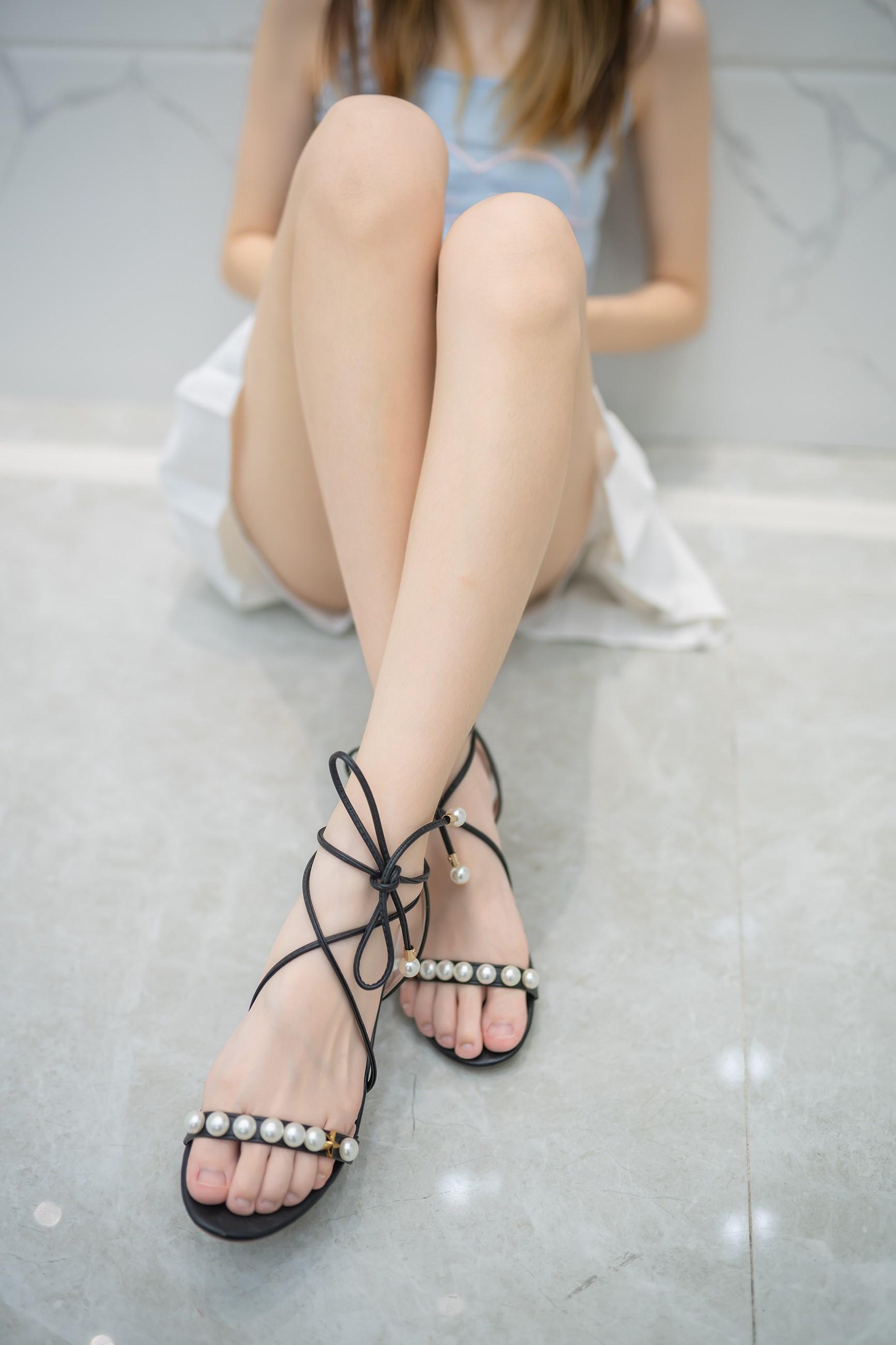 【兔玩映画】白裙果腿少女 兔玩映画 第4张