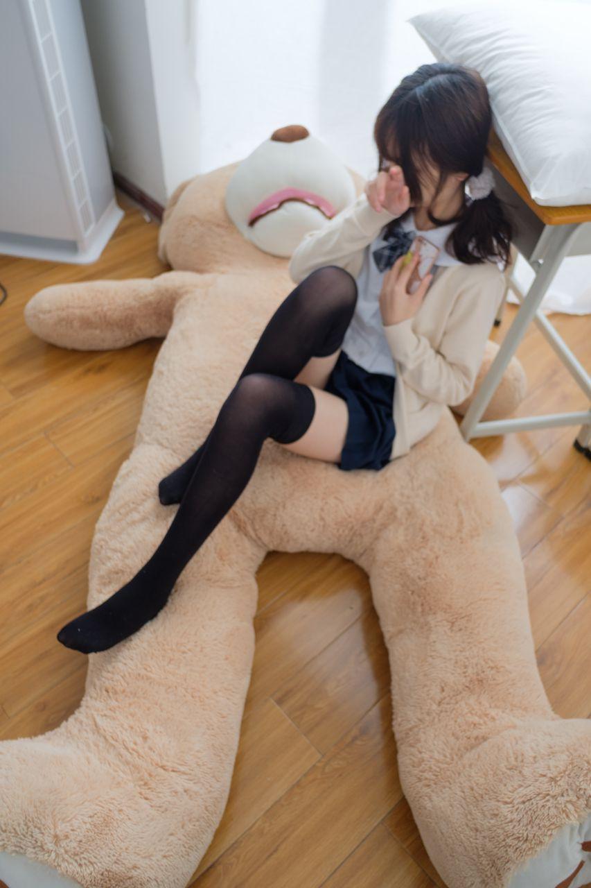 """【喵写真】 喵写真 – PR15-002 黑丝萝莉与""""熊"""" [90P-1V-768MB] 喵写真 第4张"""
