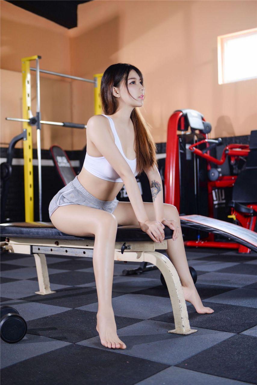 【风之领域】风之领域写真 NO.199 健身房里的性感美女 [42P-836MB] 风之领域 第3张