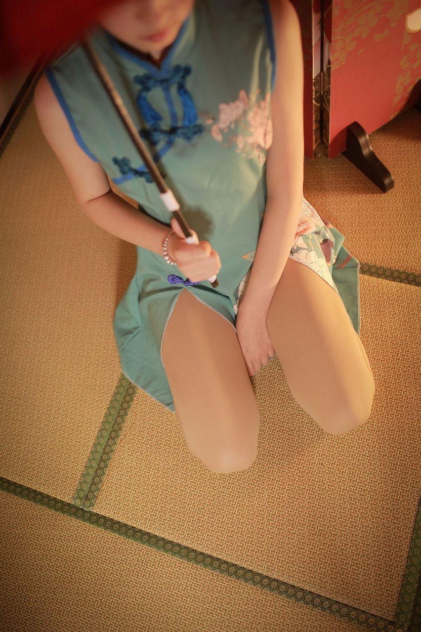 【风之领域】风之领域写真 NO.156 旗袍少女的肉丝撕坏了 [40P-263MB] 风之领域 第5张
