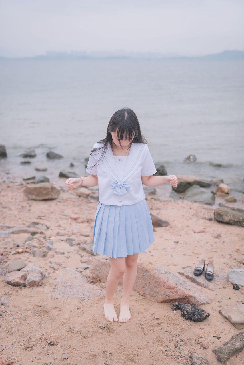 【风之领域】风之领域写真 NO.155 海边和森林里的水手服少女 [51P-145MB] 风之领域 第4张