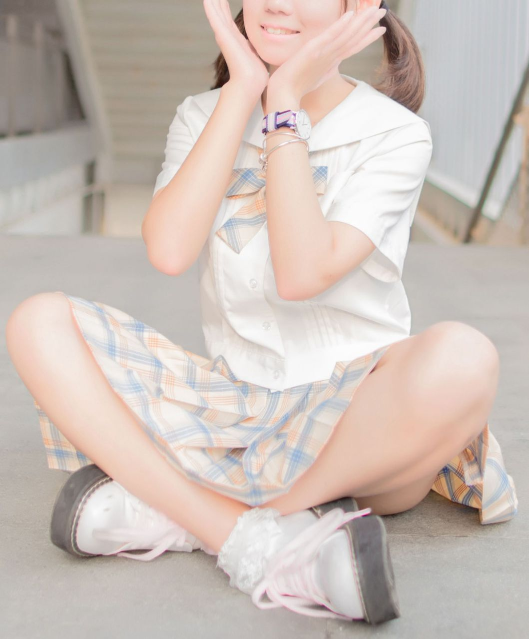 【风之领域】风之领域写真 NO.171 可爱的少女制服 [48P-278MB] 风之领域 第3张
