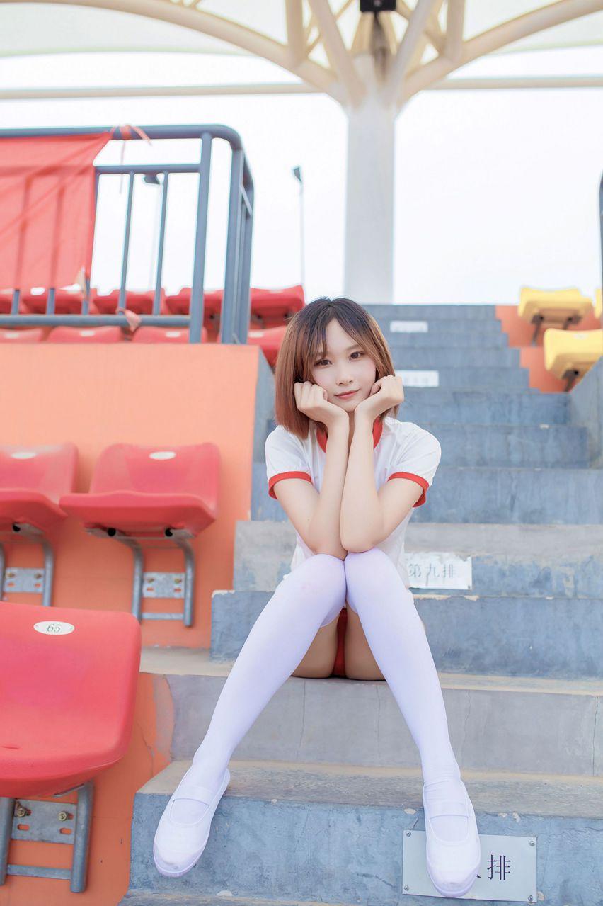 【风之领域】风之领域写真 NO.142 校园里的体操服少女 [42P-214MB] 风之领域 第1张