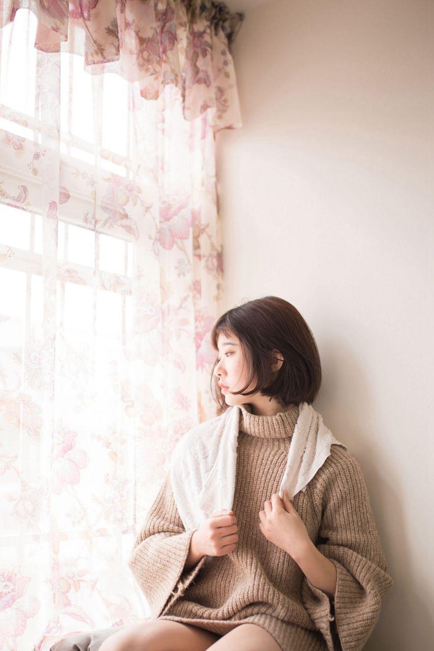 【风之领域】风之领域写真 NO.137 可爱的毛衣少女 [40P-212MB] 风之领域 第1张
