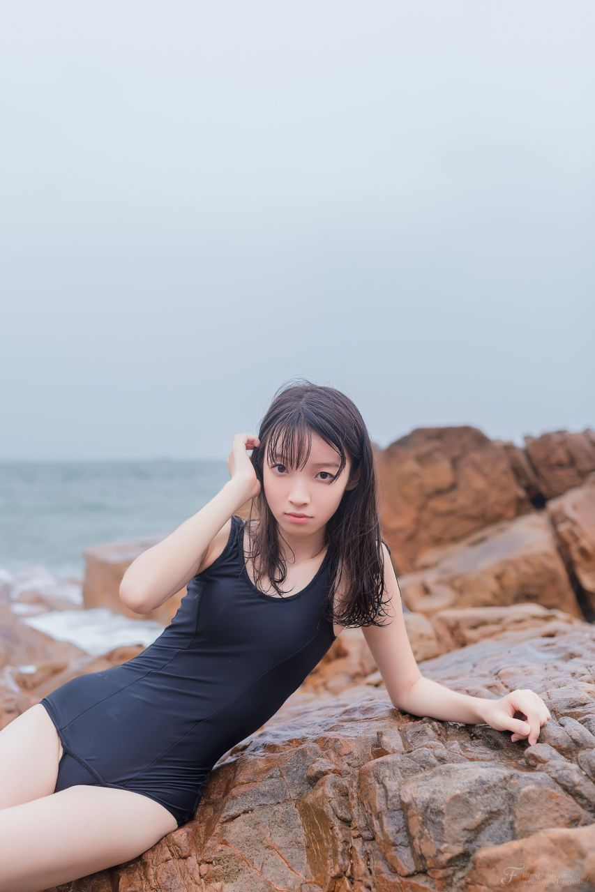 【风之领域】风之领域写真 NO.054 海边的死库水少女 [29P-41MB] 风之领域 第5张