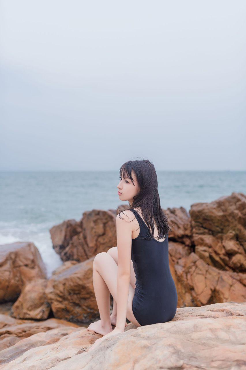【风之领域】风之领域写真 NO.054 海边的死库水少女 [29P-41MB] 风之领域 第3张