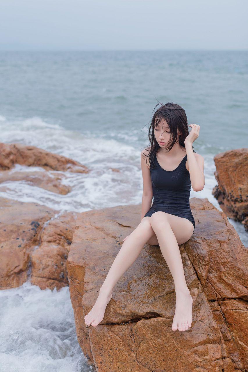 【风之领域】风之领域写真 NO.054 海边的死库水少女 [29P-41MB] 风之领域 第1张