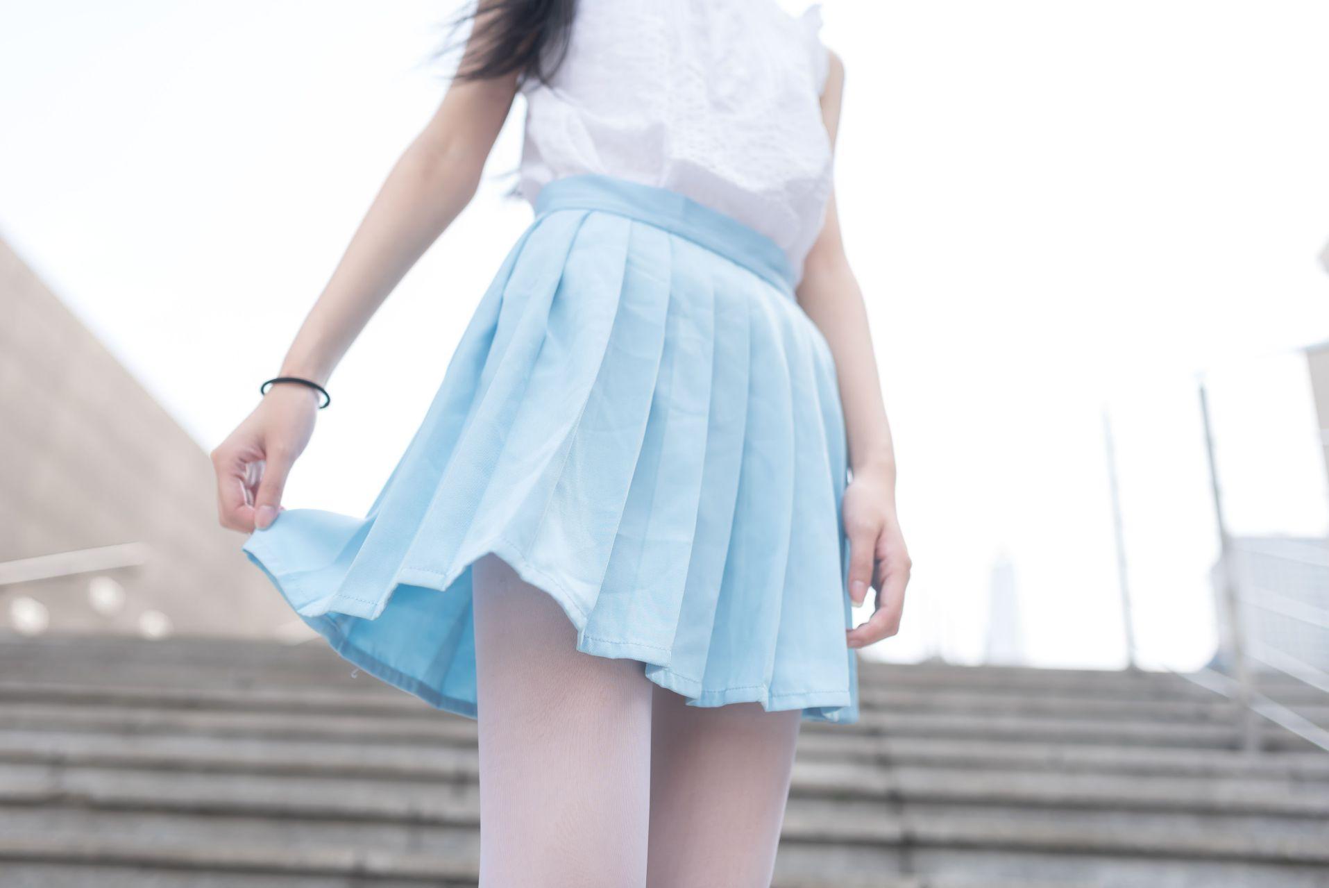 【风之领域】风之领域写真 NO.028 蓝色梦幻白丝 [50P-182MB] 风之领域 第5张