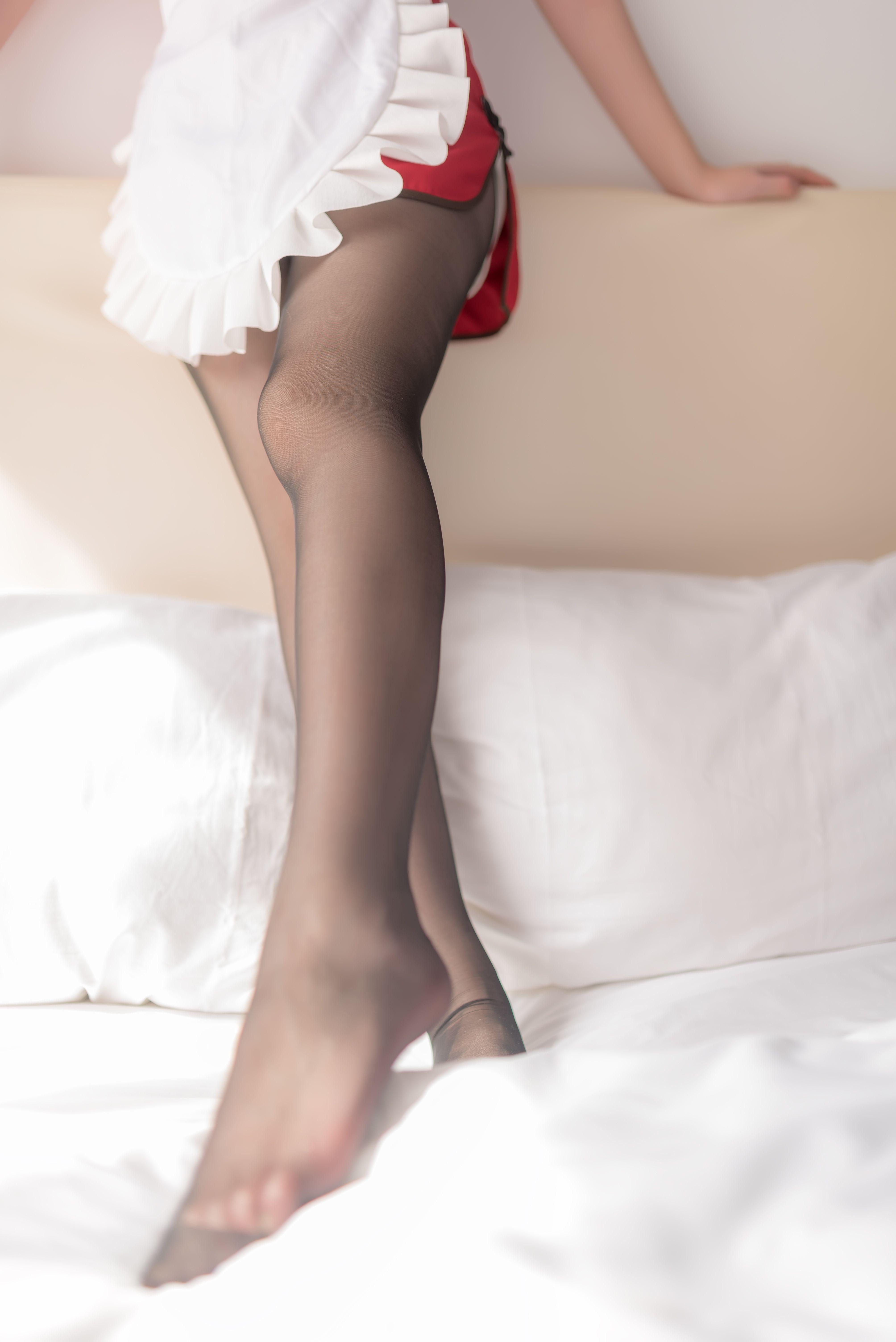 【风之领域】风之领域写真 NO.018 红旗袍女仆的黑丝 [50P-265MB] 风之领域 第5张
