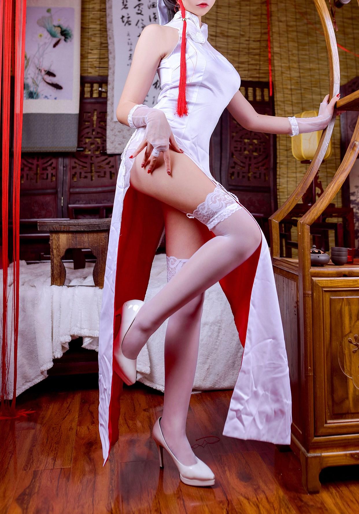 【兔玩映画】白丝旗袍 兔玩映画 第25张