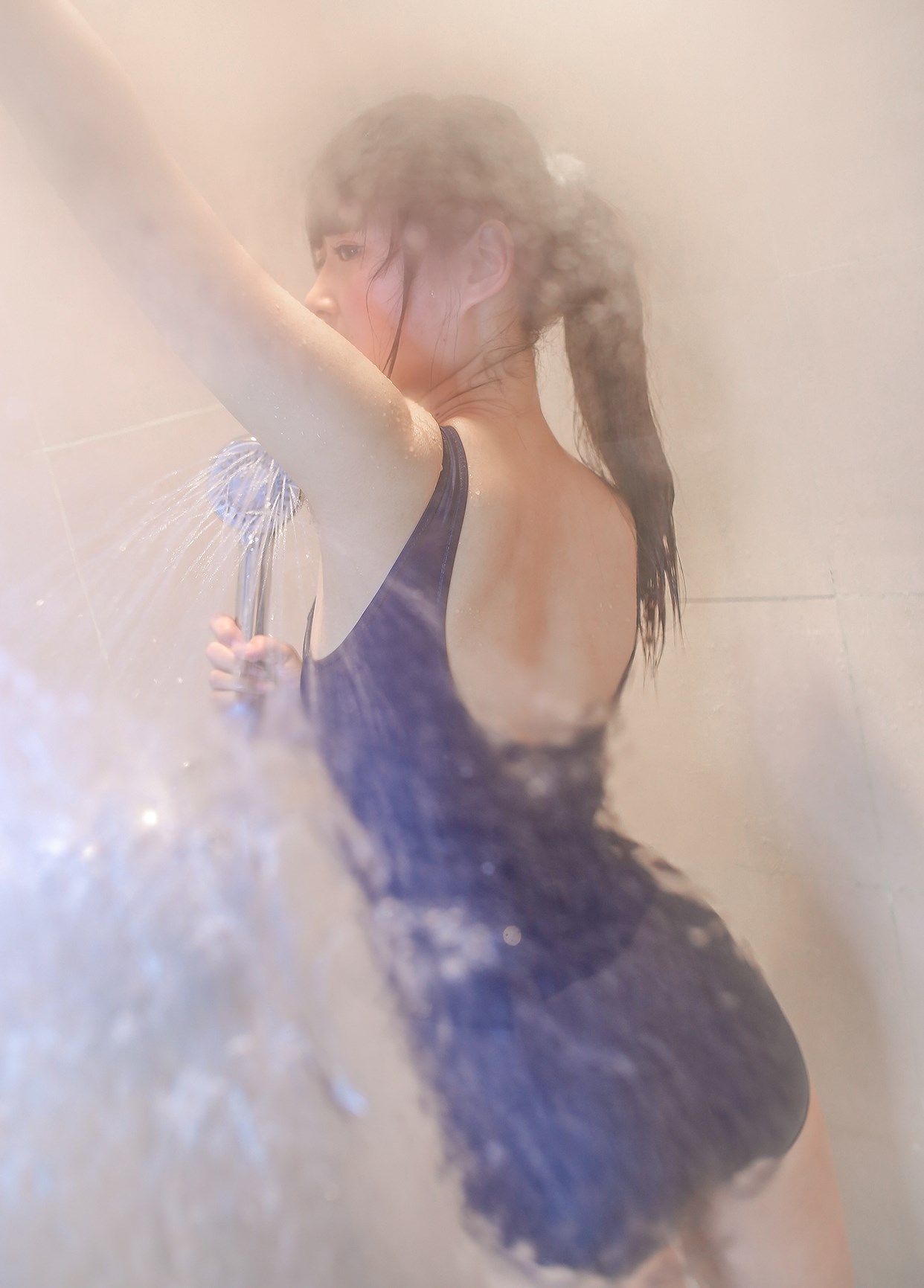 【兔玩映画】浴室里的蓝白条纹 兔玩映画 第20张
