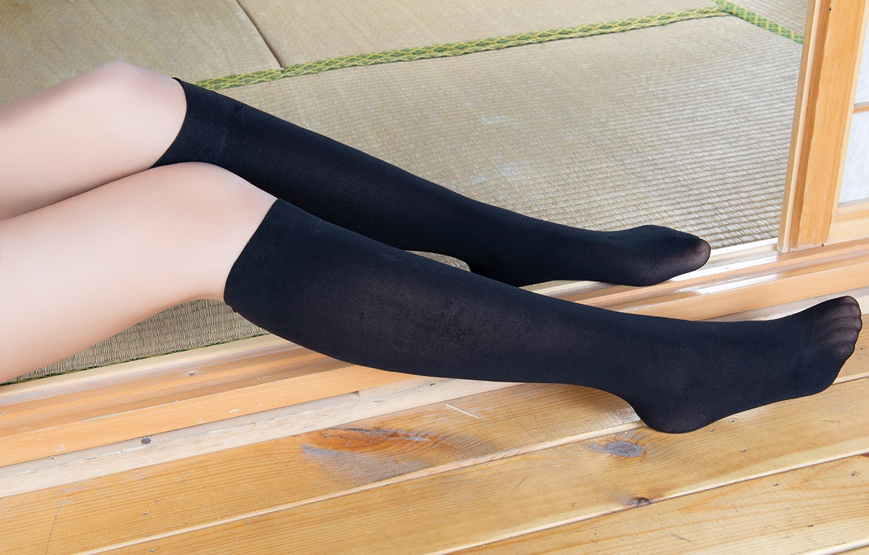【兔玩映画】玉藻前的半筒袜 兔玩映画 第45张