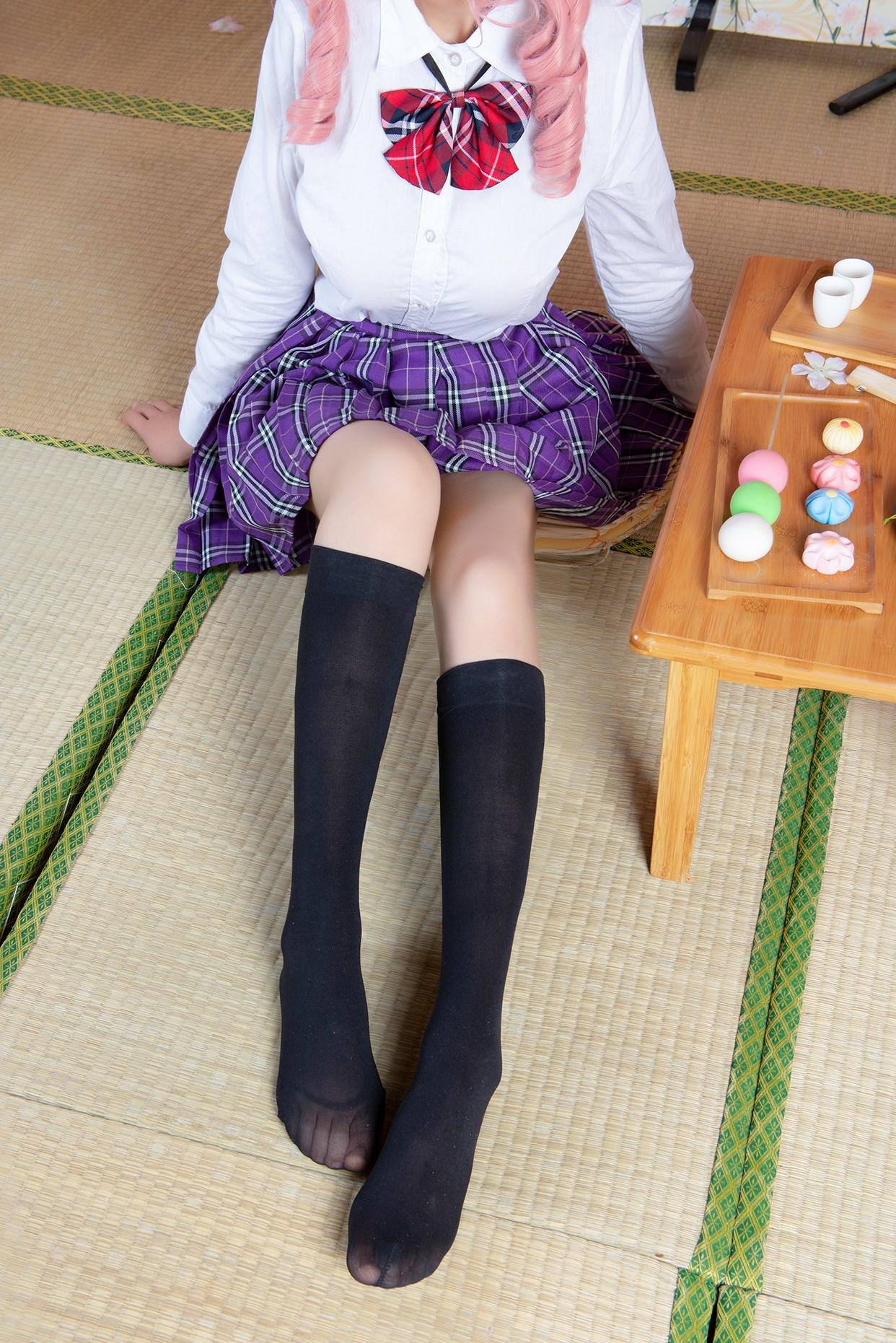 【兔玩映画】玉藻前的半筒袜 兔玩映画 第7张