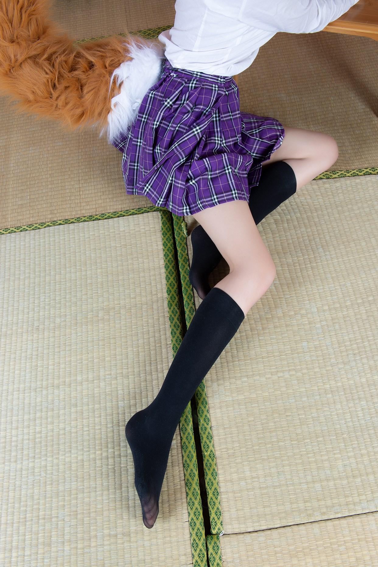 【兔玩映画】玉藻前的半筒袜 兔玩映画 第5张