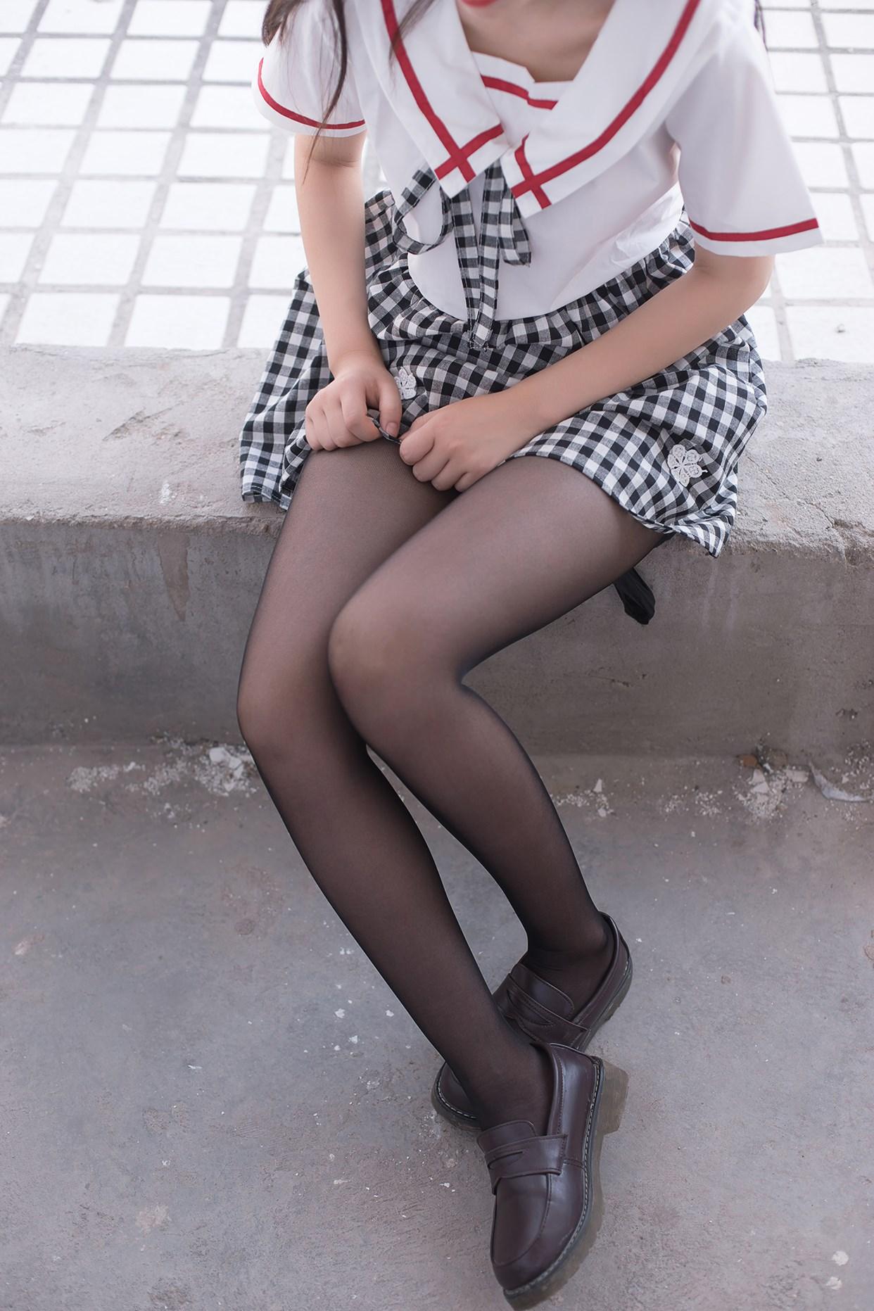 【兔玩映画】萝莉穿黑丝啦! 兔玩映画 第34张