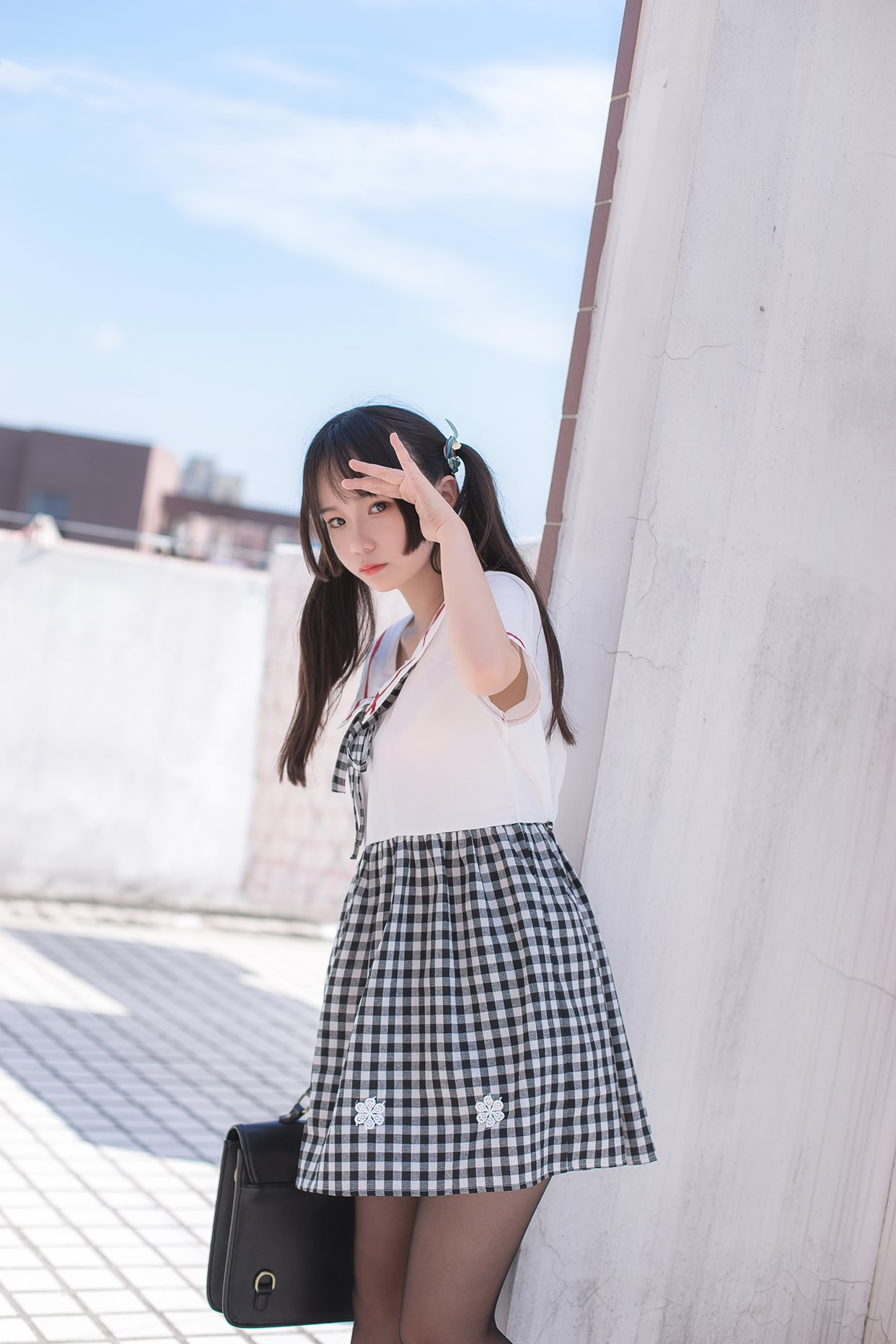 【兔玩映画】萝莉穿黑丝啦! 兔玩映画 第16张