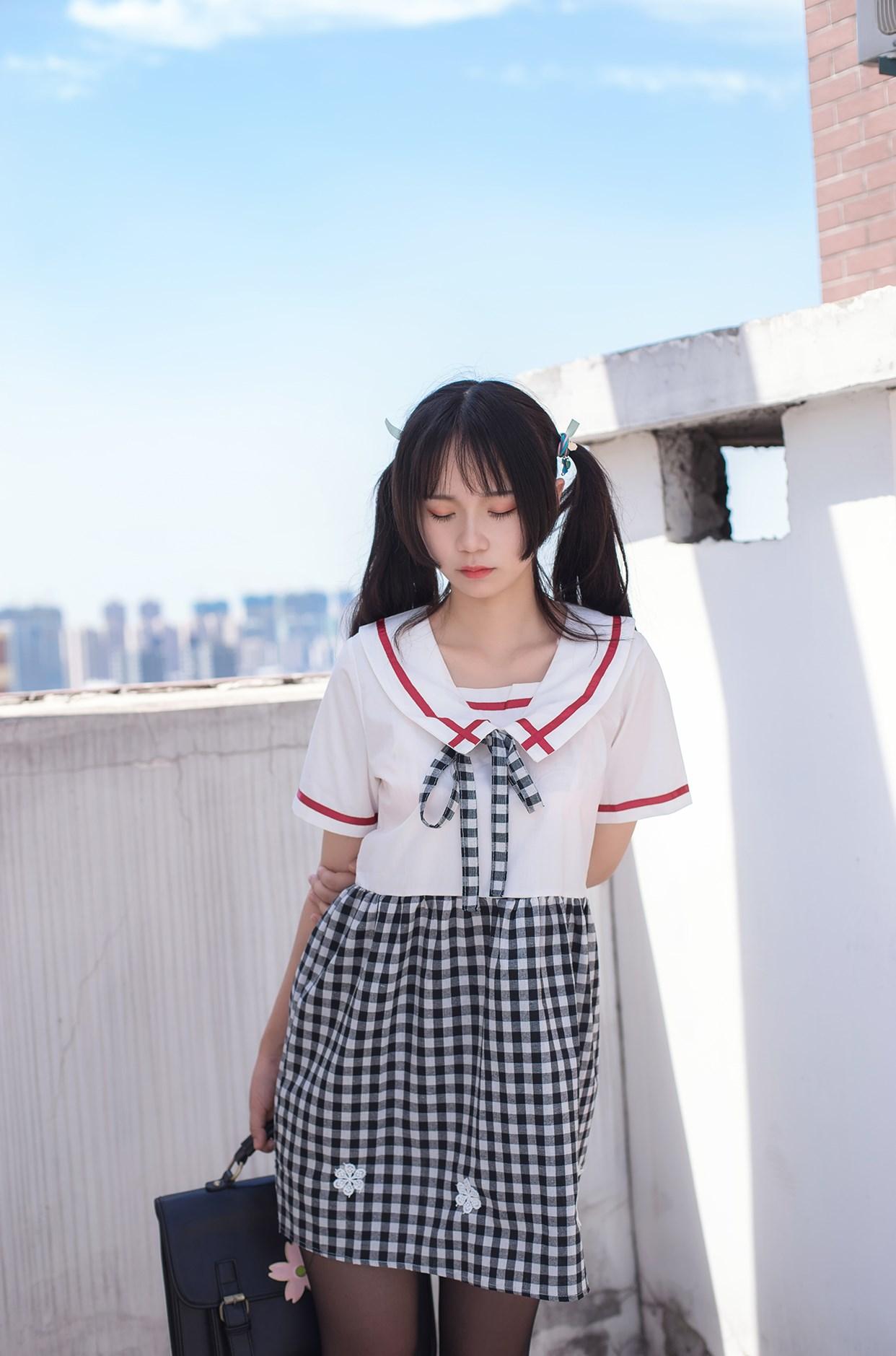 【兔玩映画】萝莉穿黑丝啦! 兔玩映画 第13张