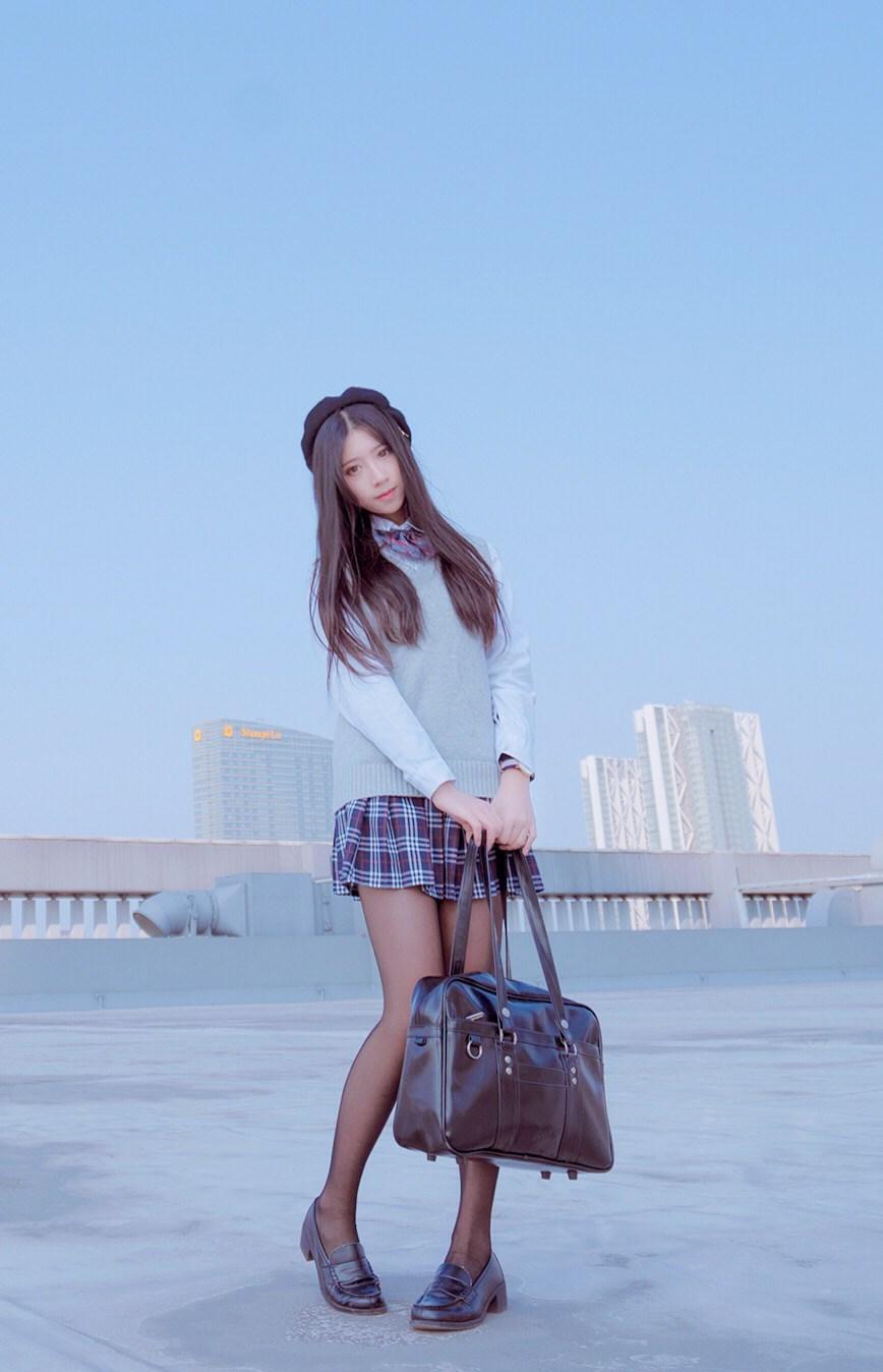 【兔玩映画】制服黑丝 兔玩映画 第34张