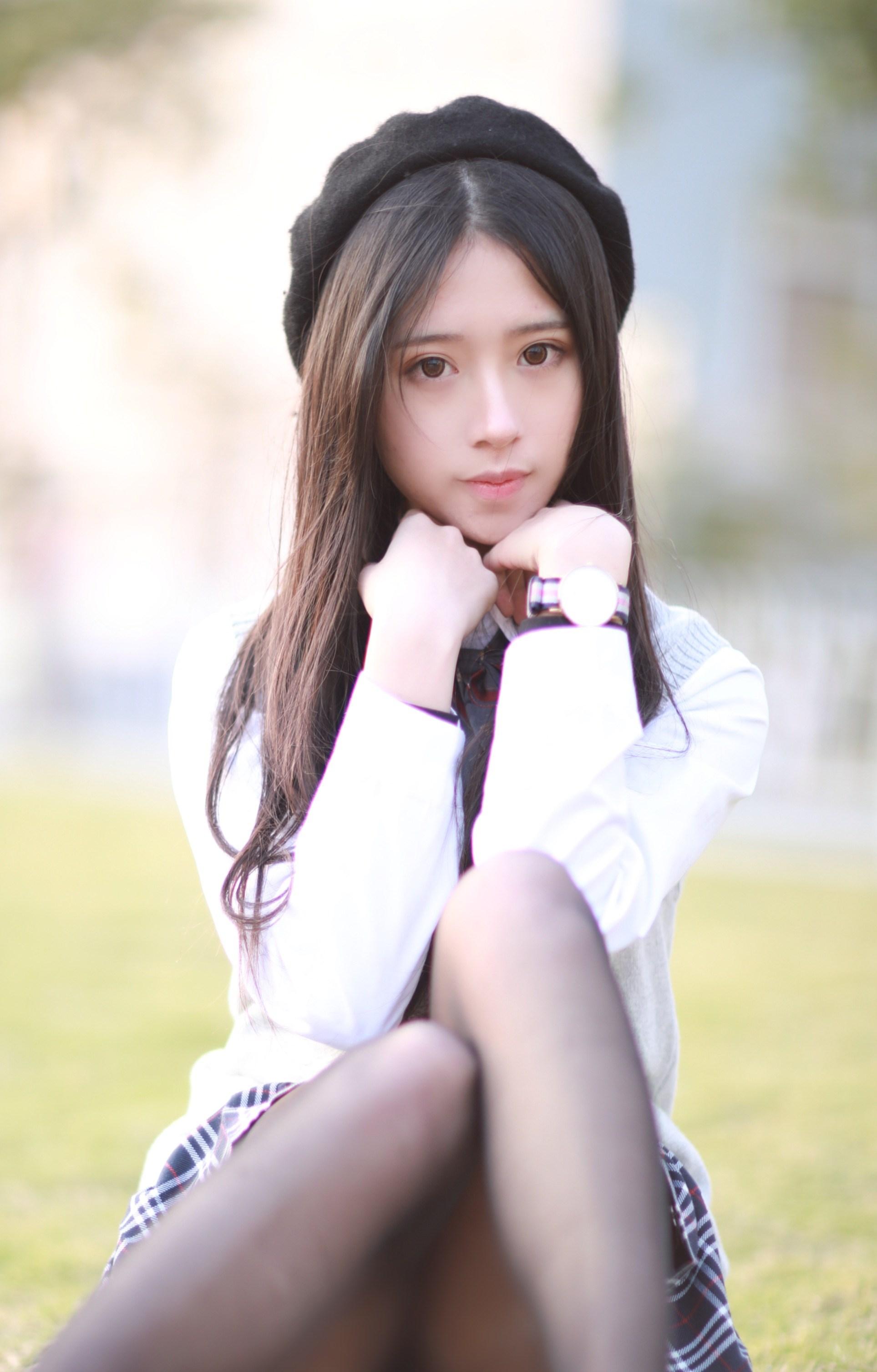 【兔玩映画】制服黑丝 兔玩映画 第23张