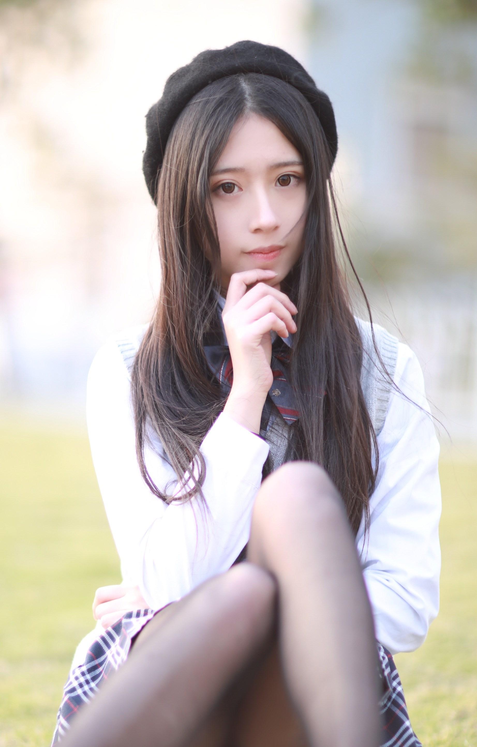 【兔玩映画】制服黑丝 兔玩映画 第22张