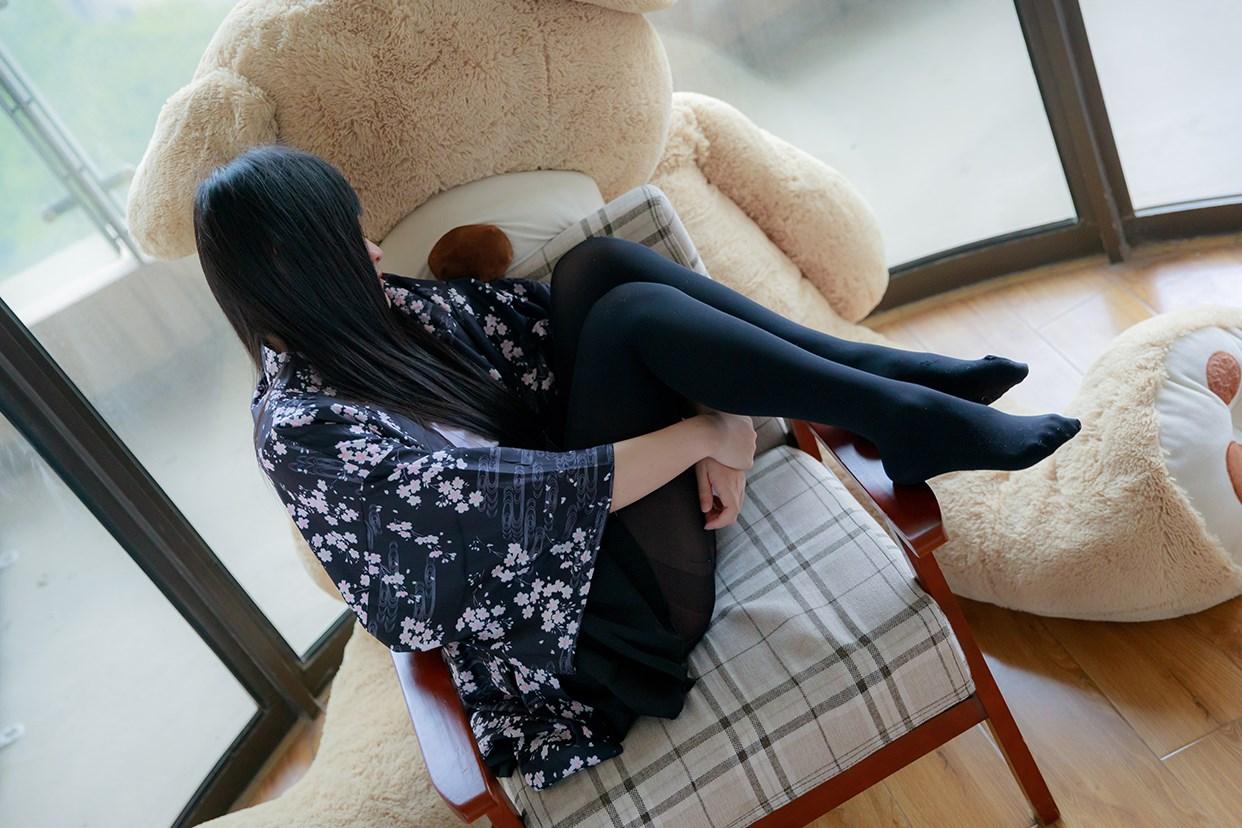 【兔玩映画】椅上的黑丝少女 兔玩映画 第43张